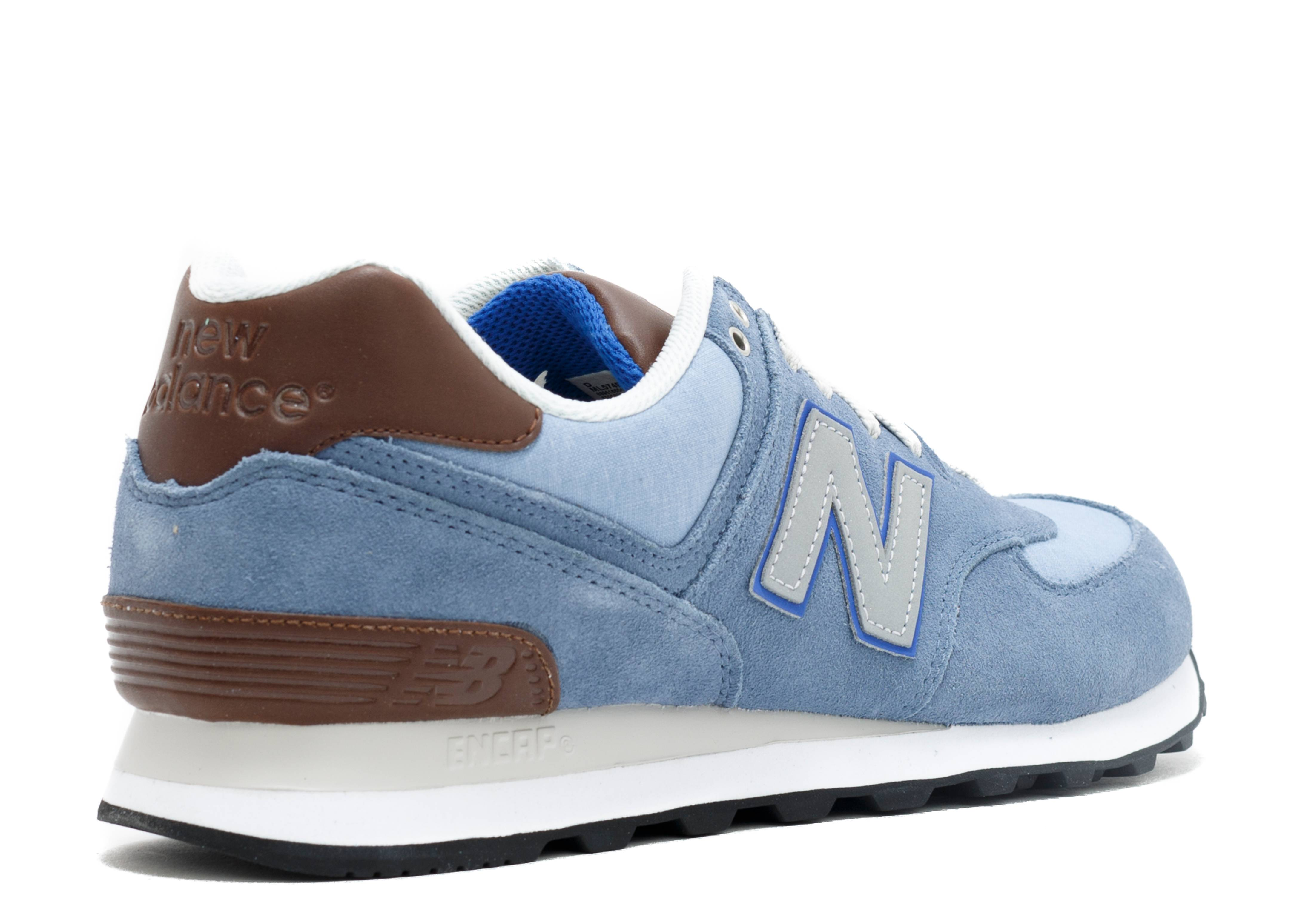 best website 18601 f3a48 Ml574 - New Balance - ml574bcd - chambray/brown | Flight Club