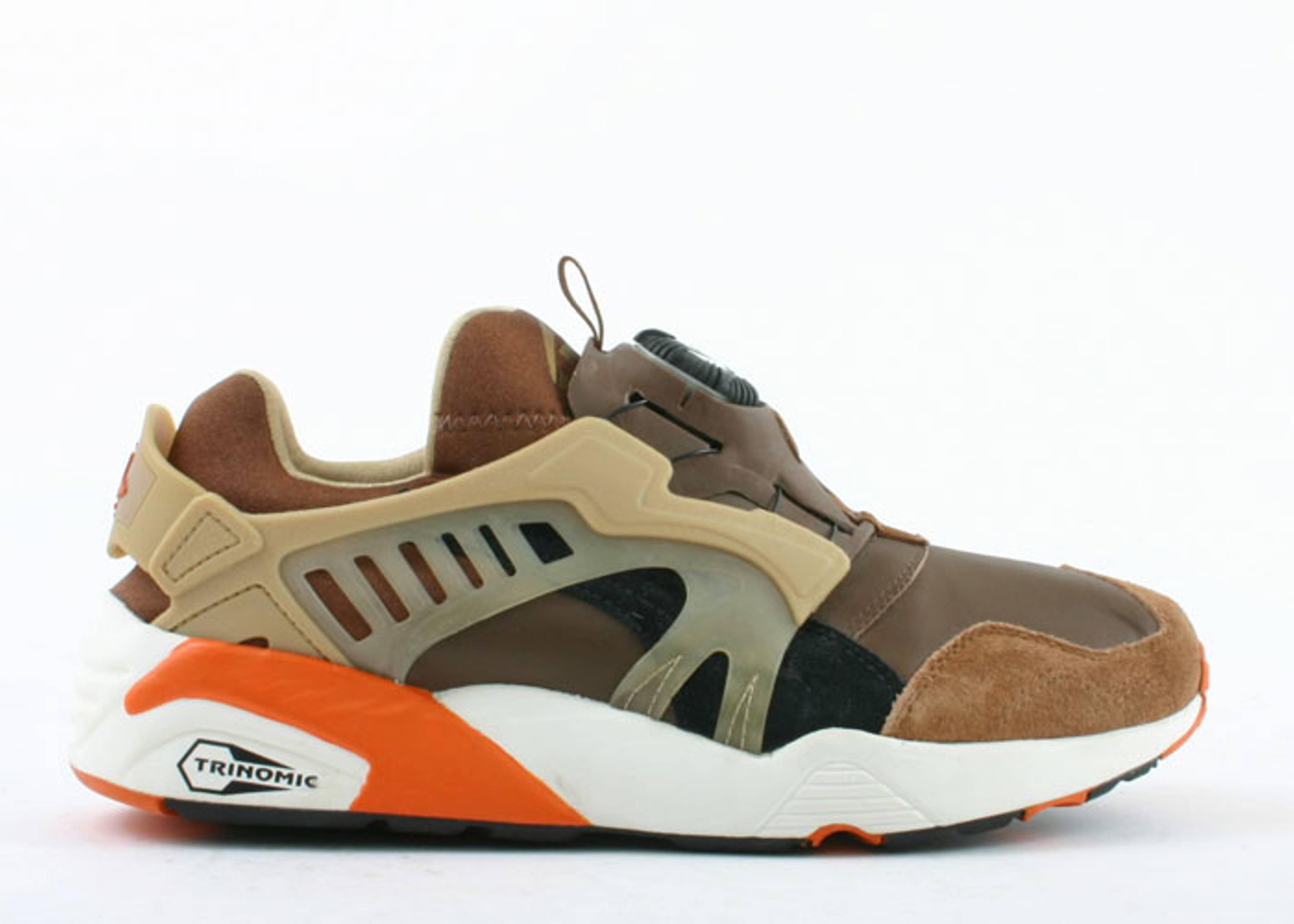 puma trinomic brown