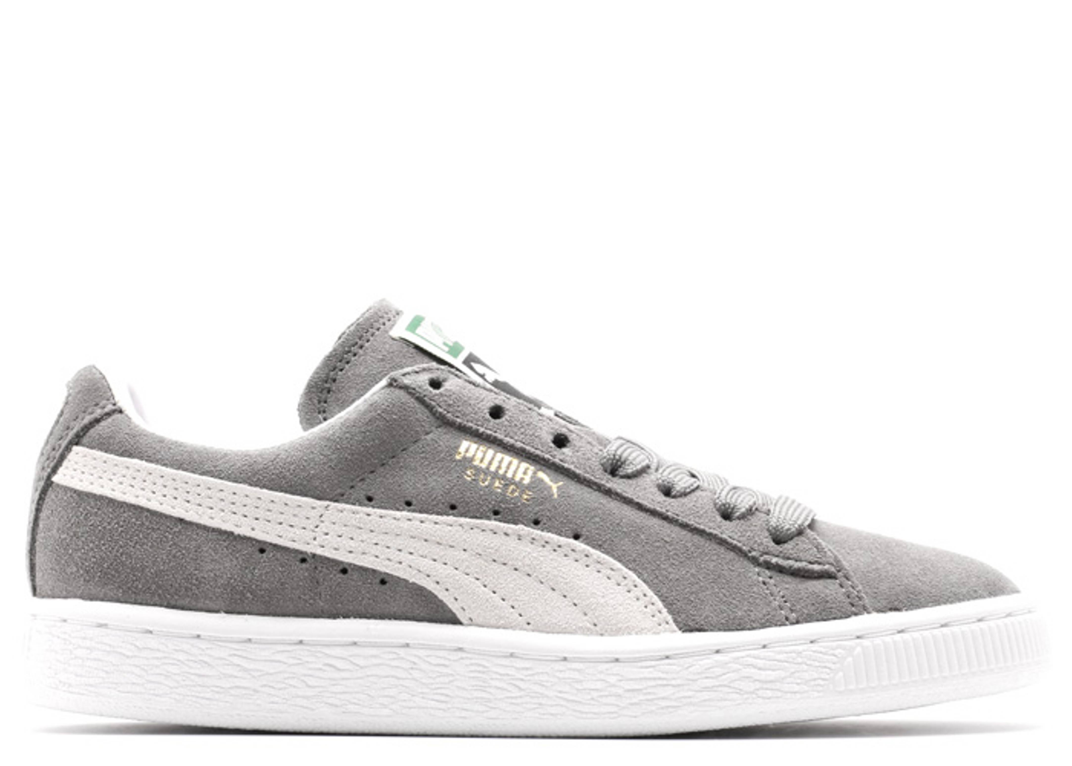 more photos 36340 59542 Suede Classic+ - Puma - 35263466 - steeple gray-white ...
