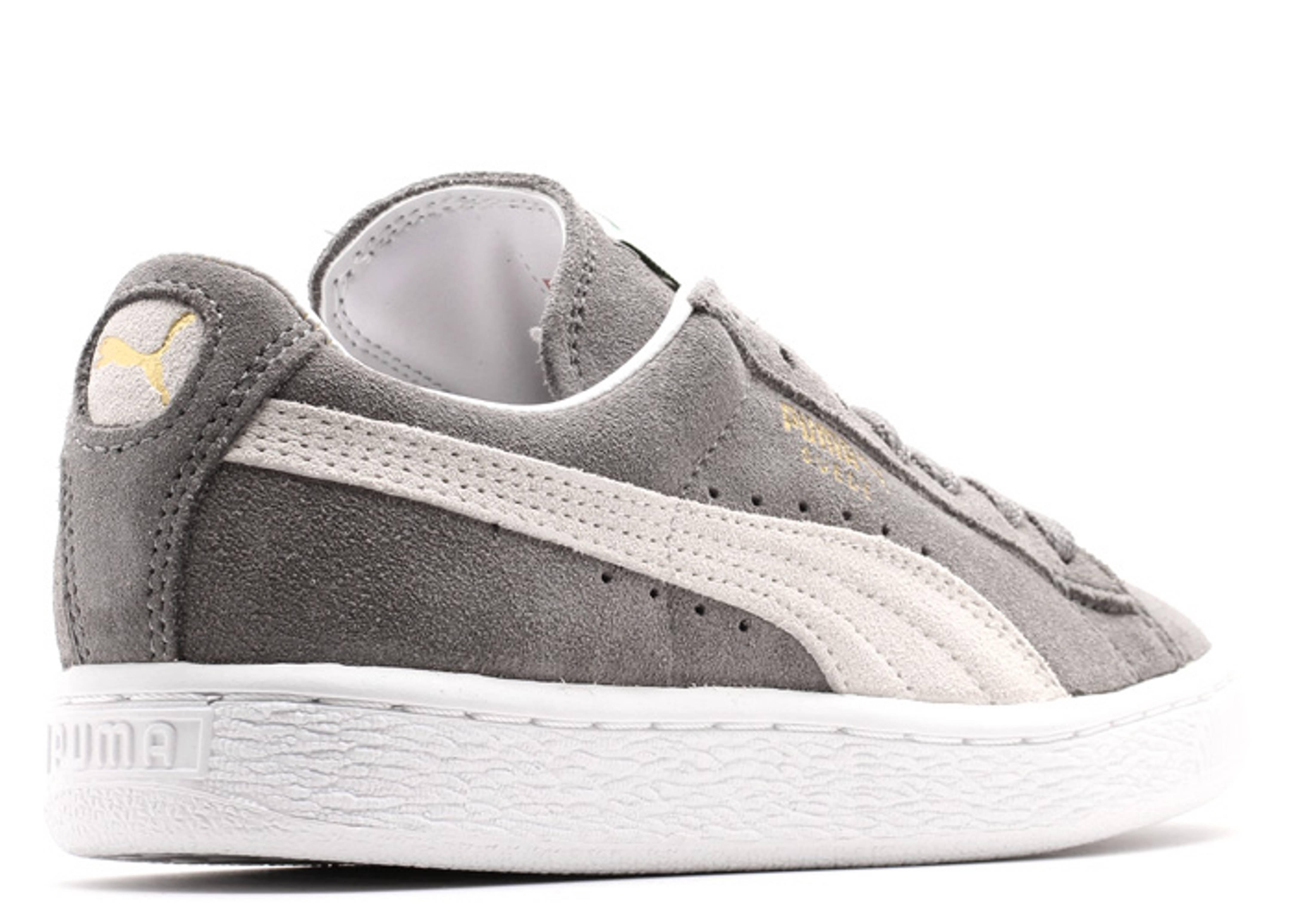 d457e3816c55 Suede Classic+ - Puma - 35263466 - steeple gray-white