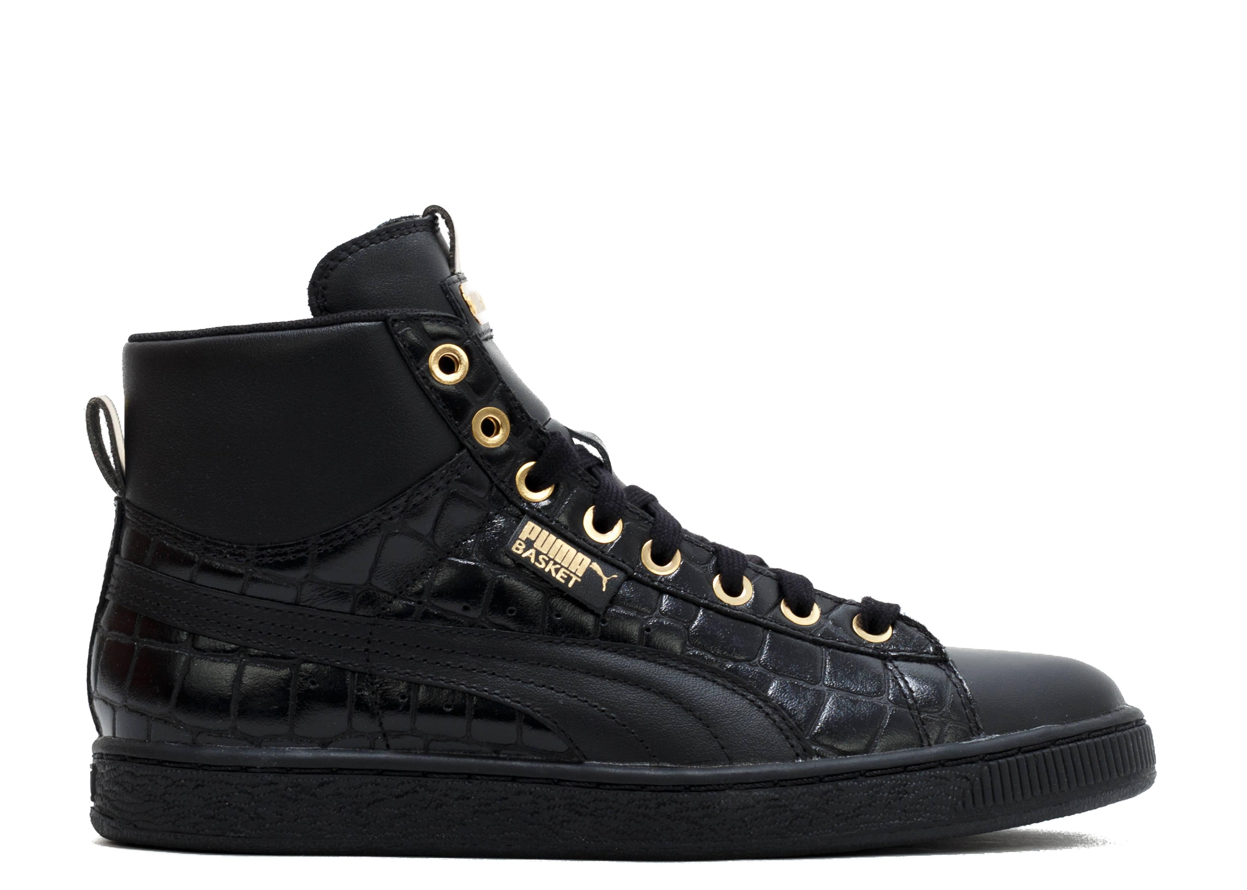 puma basket mid exotic sneakers