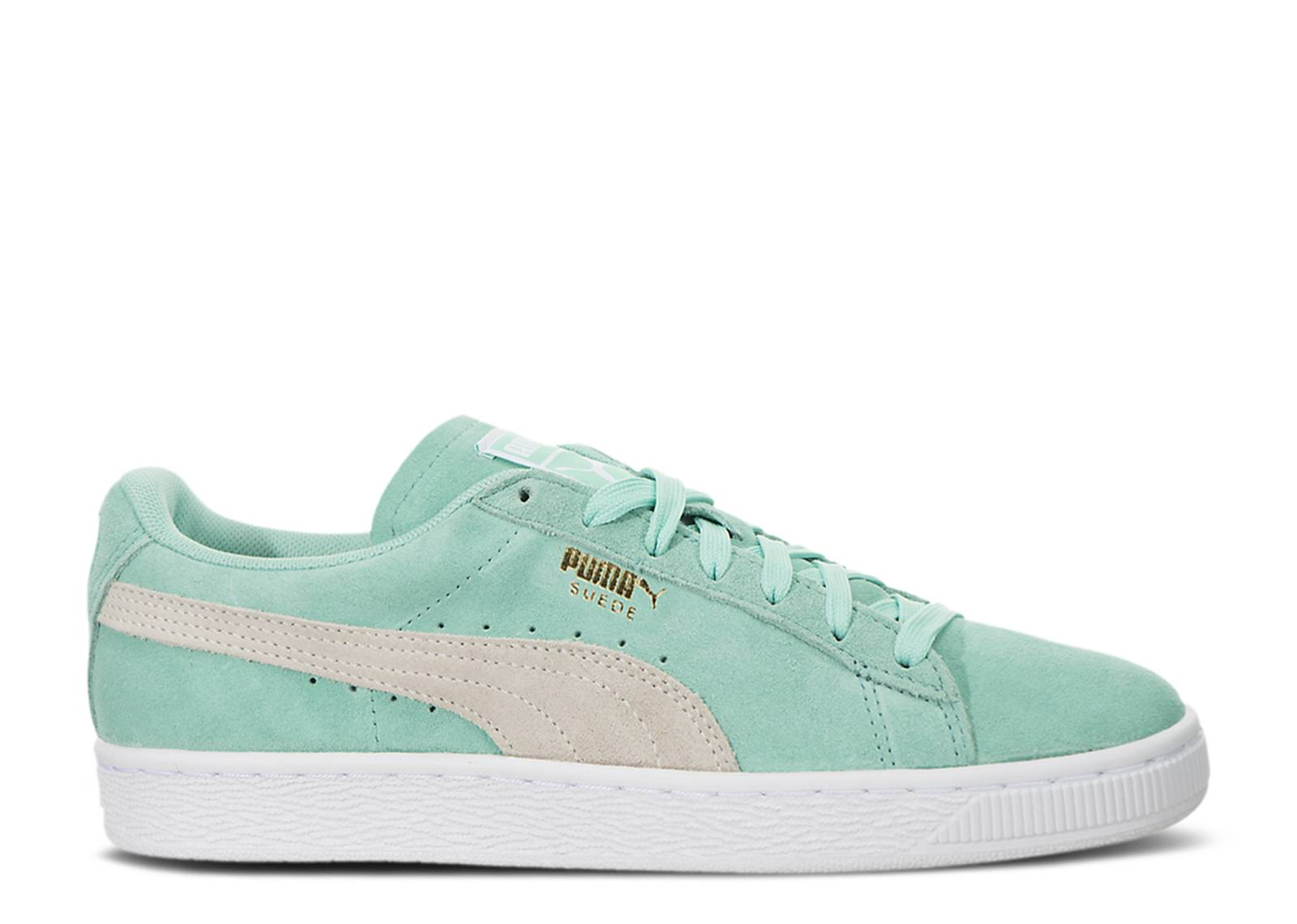 finest selection f6e84 6d8e5 puma suede turquoise and white