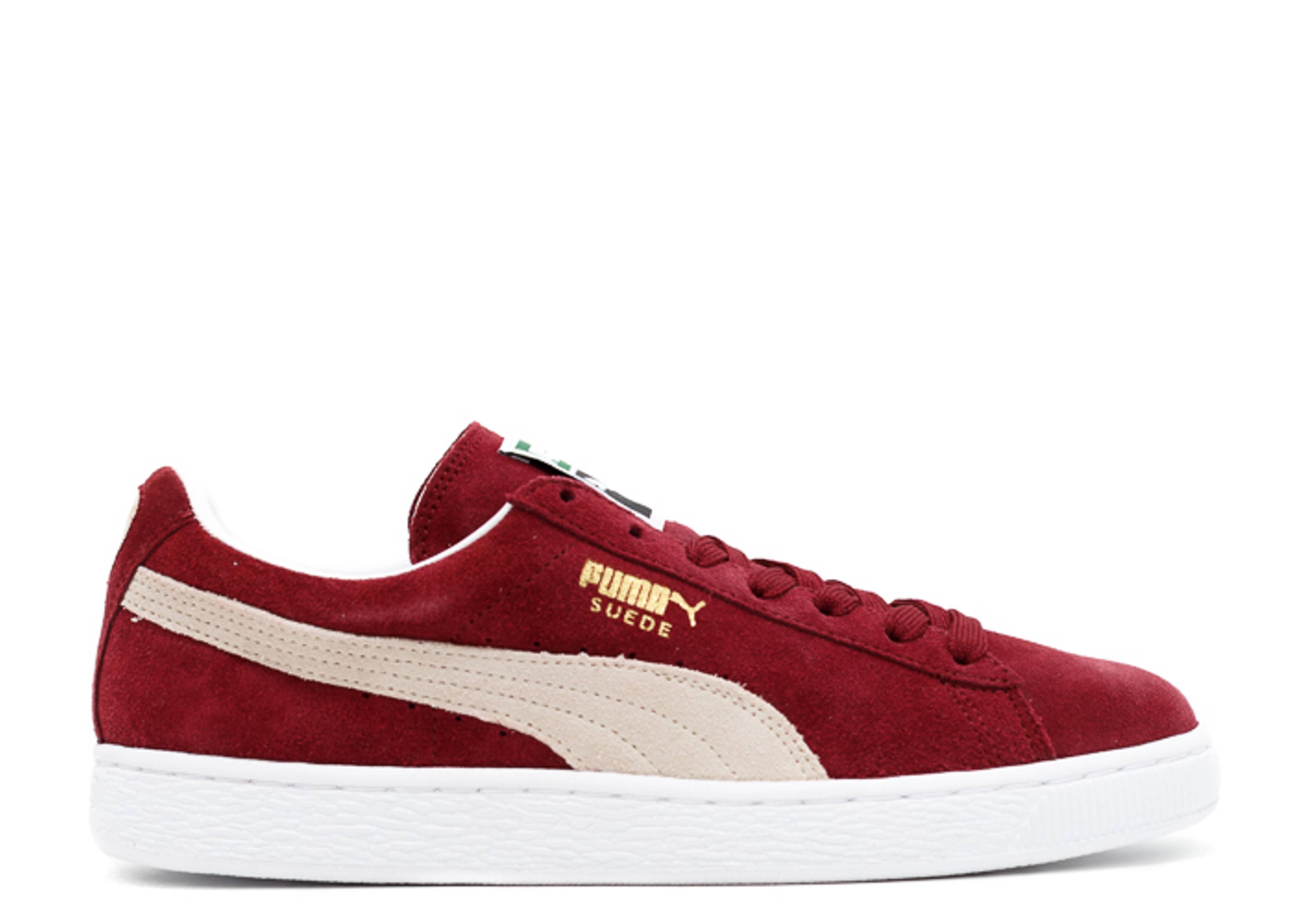 best sneakers 68313 87376 Suede Classic + - Puma - 35263475 - cabernet/white | Flight Club