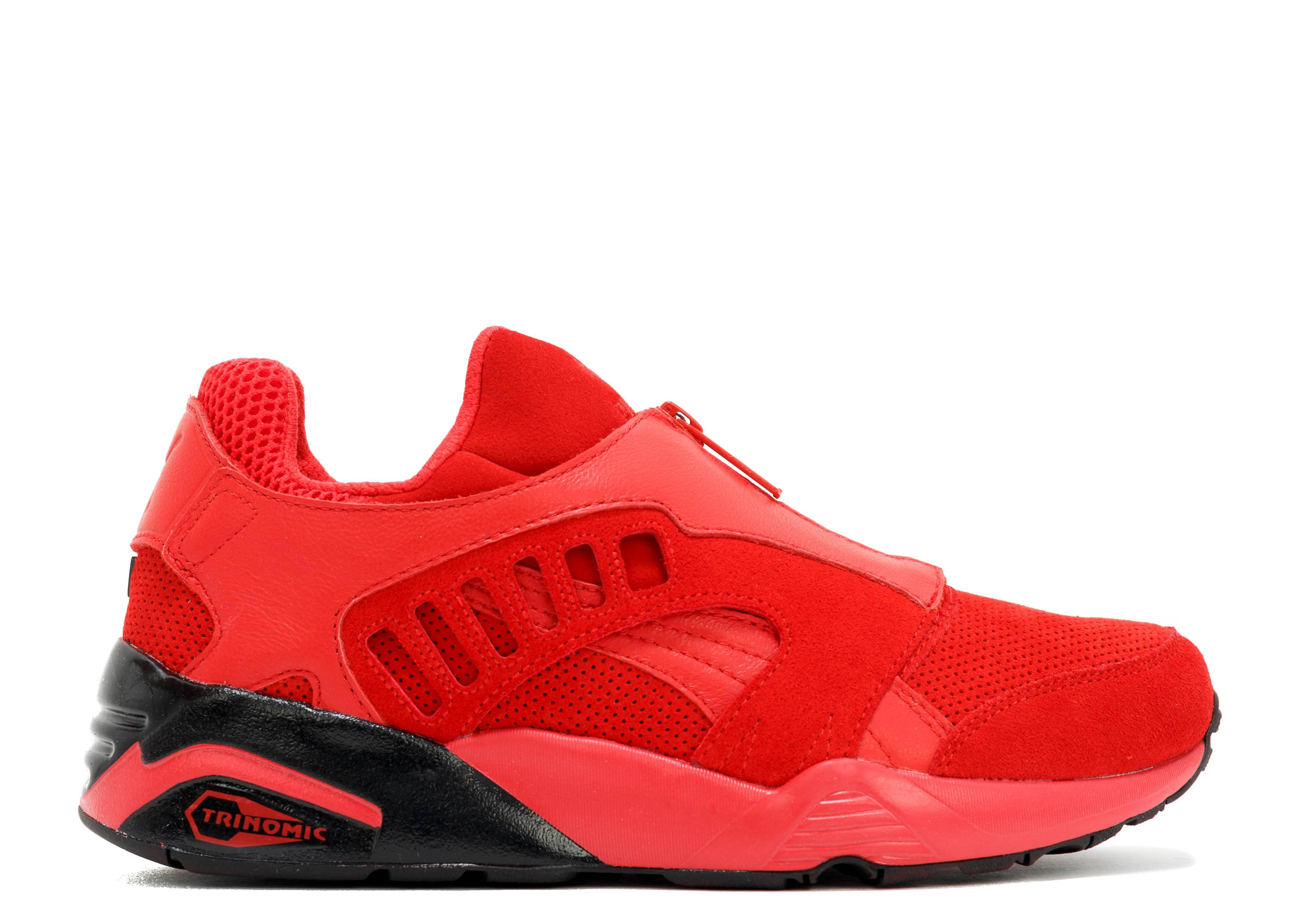 dc42246aefb48b Trinomic Zip - Puma - 36144801 - high risk red black