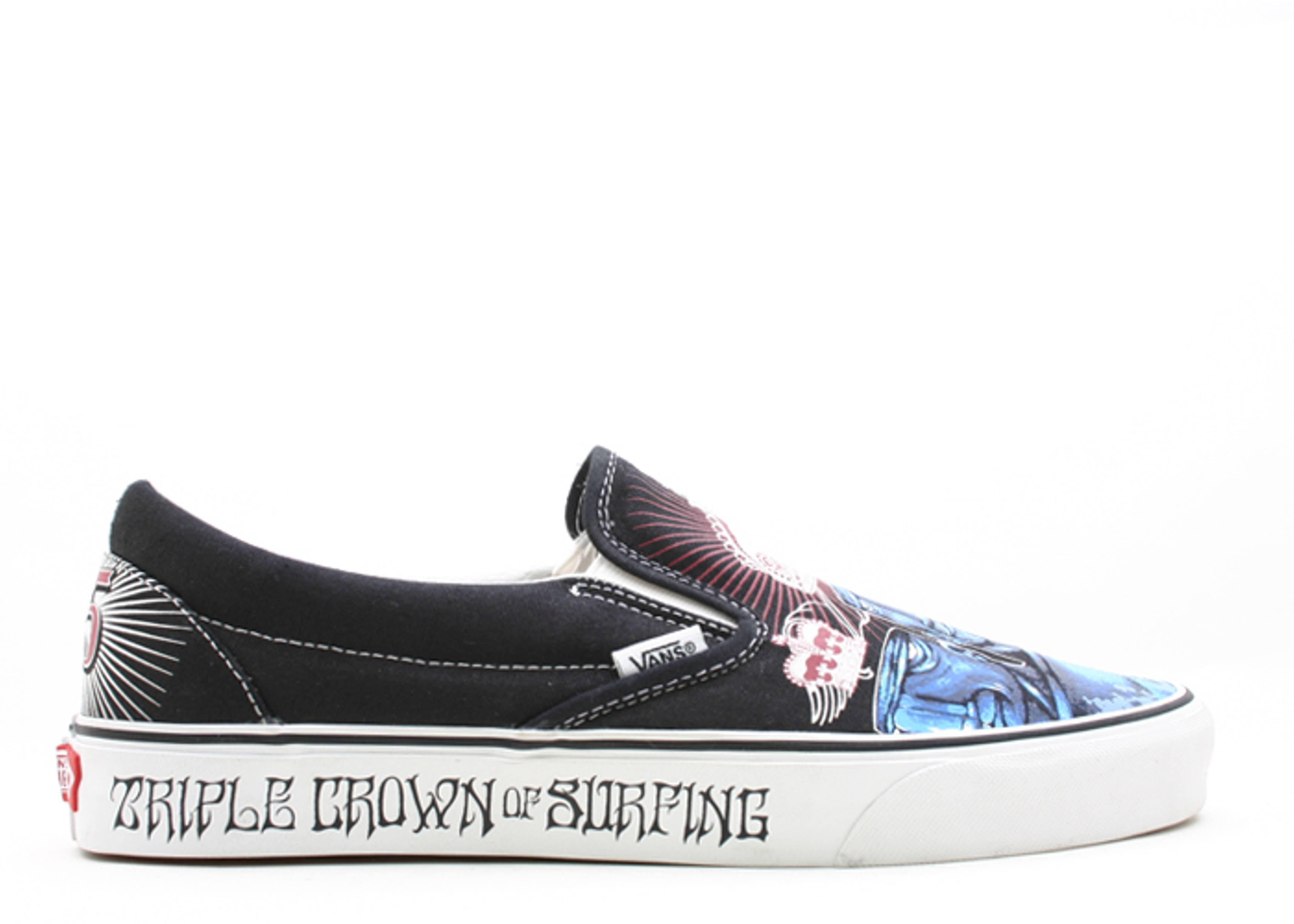 "classic slip-on ""triple crown 25th anniversary"""
