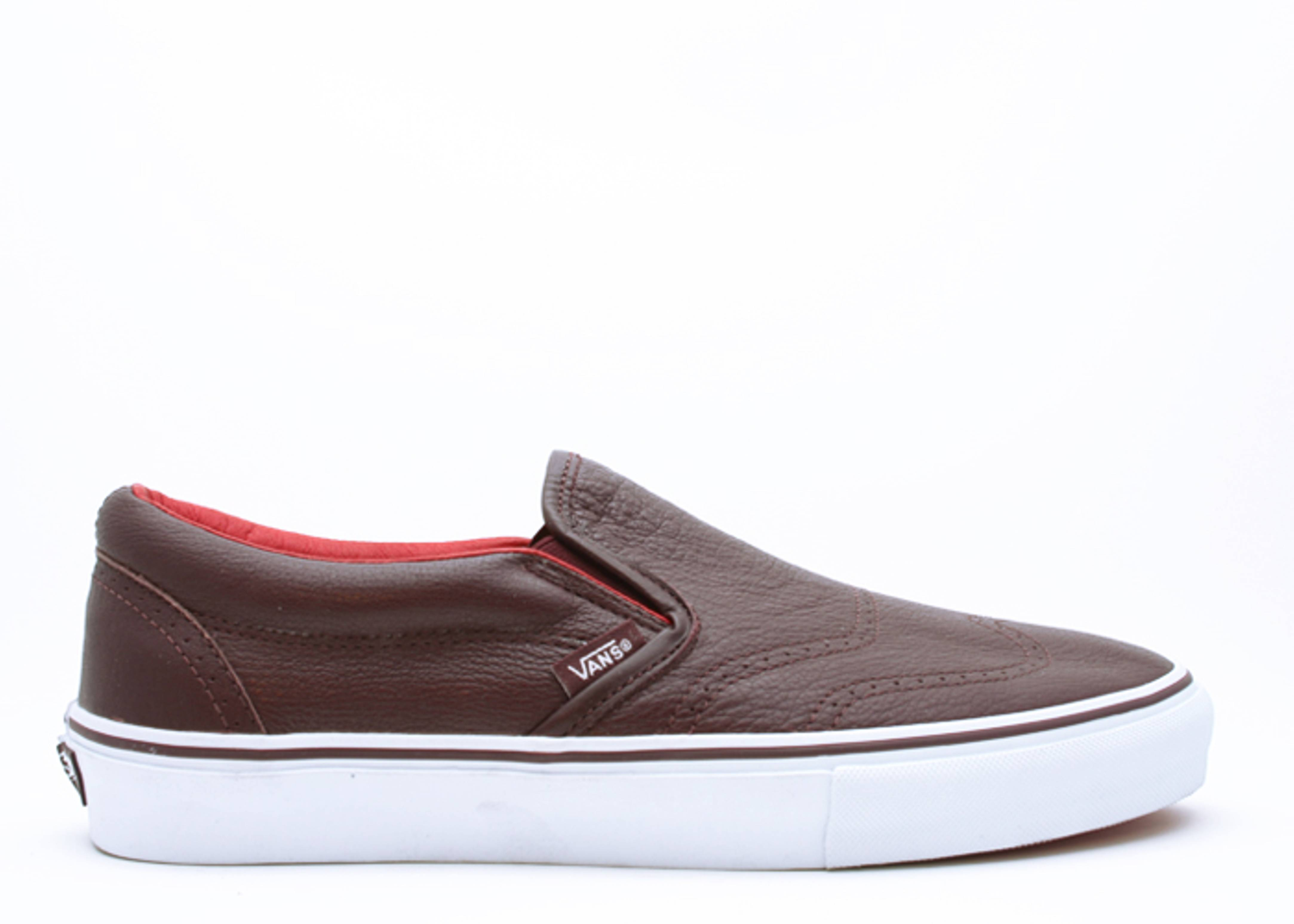 classic slip on wingtip lx