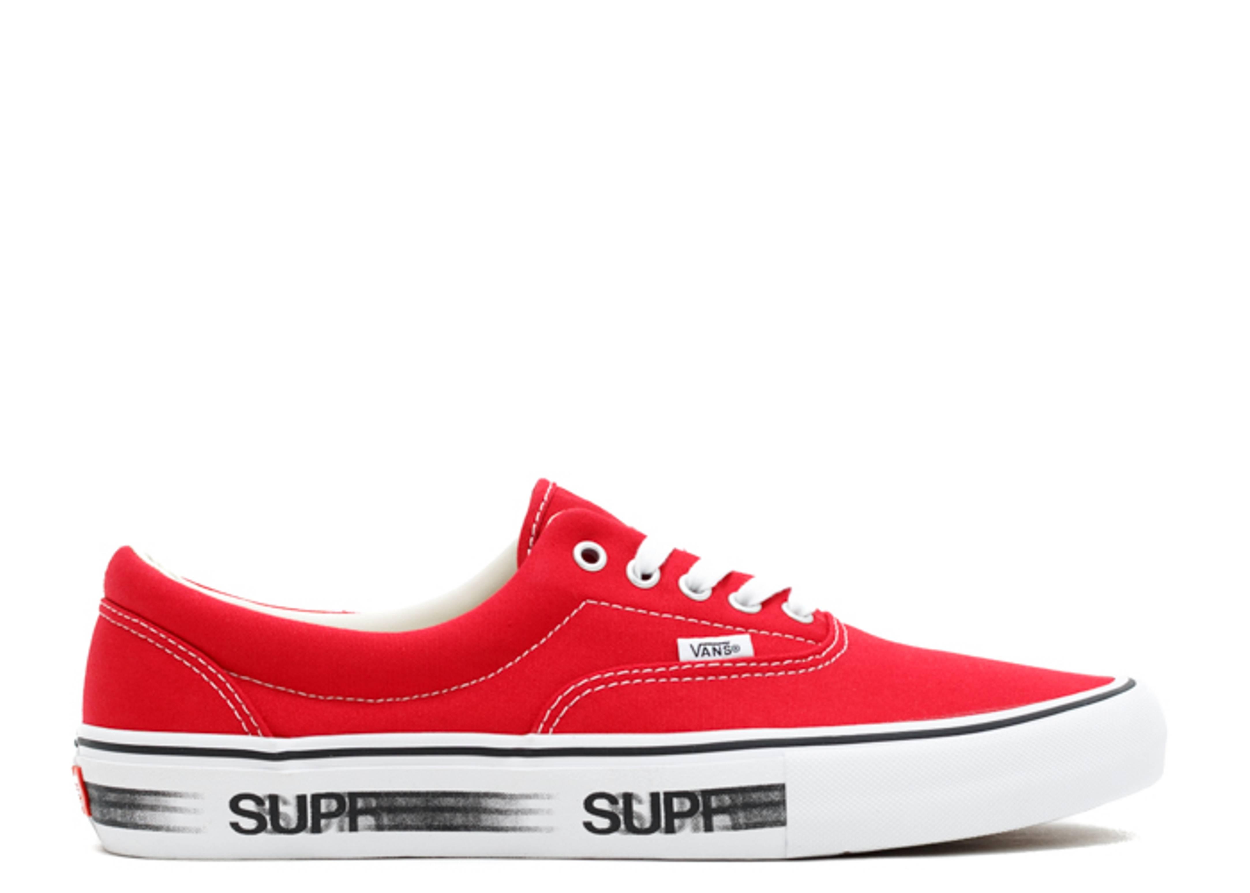 """Supreme x Era Pro 'Motion Logo Red' """"Motion Logo Red"""""""