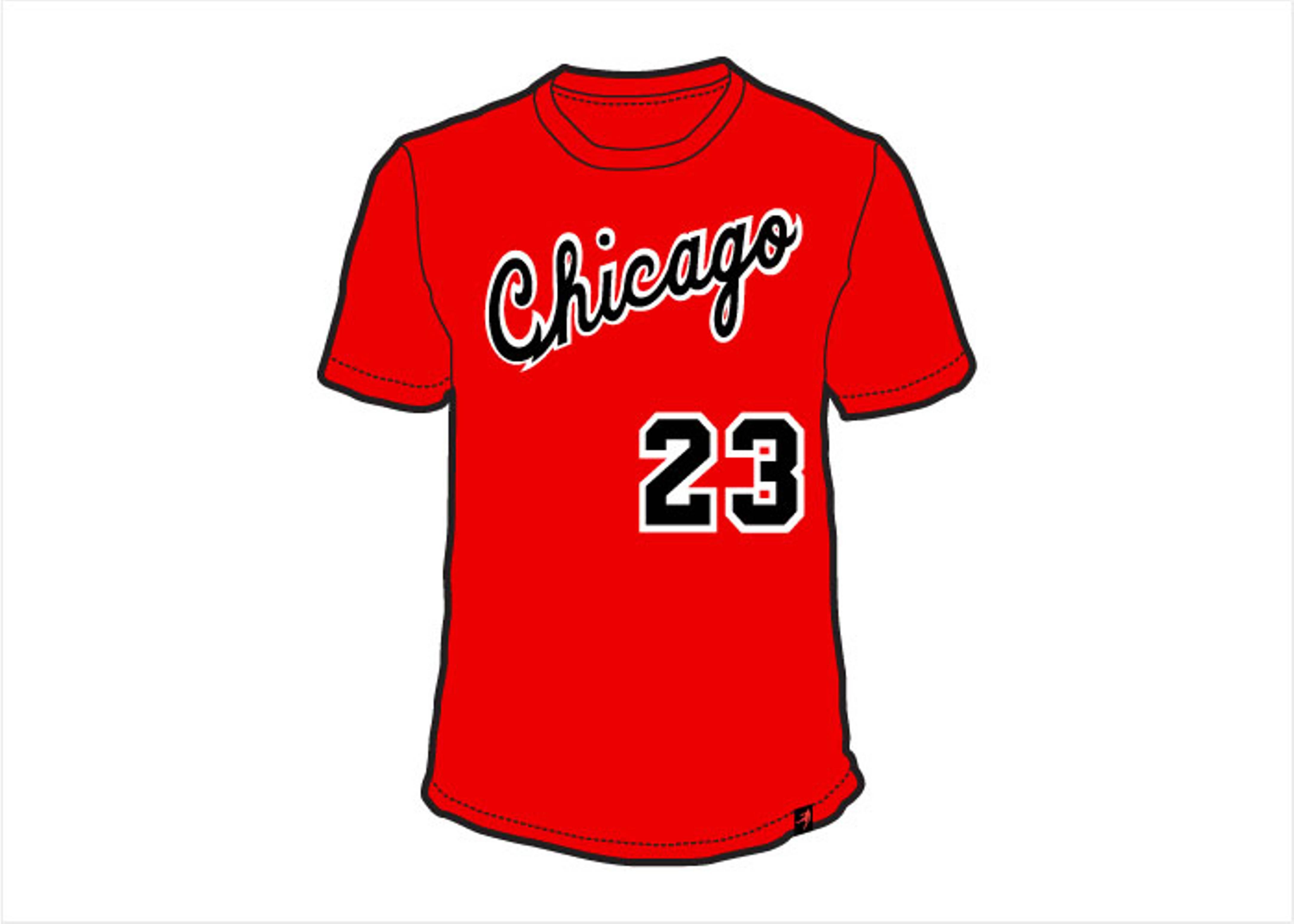 chicago 23 t-shirt