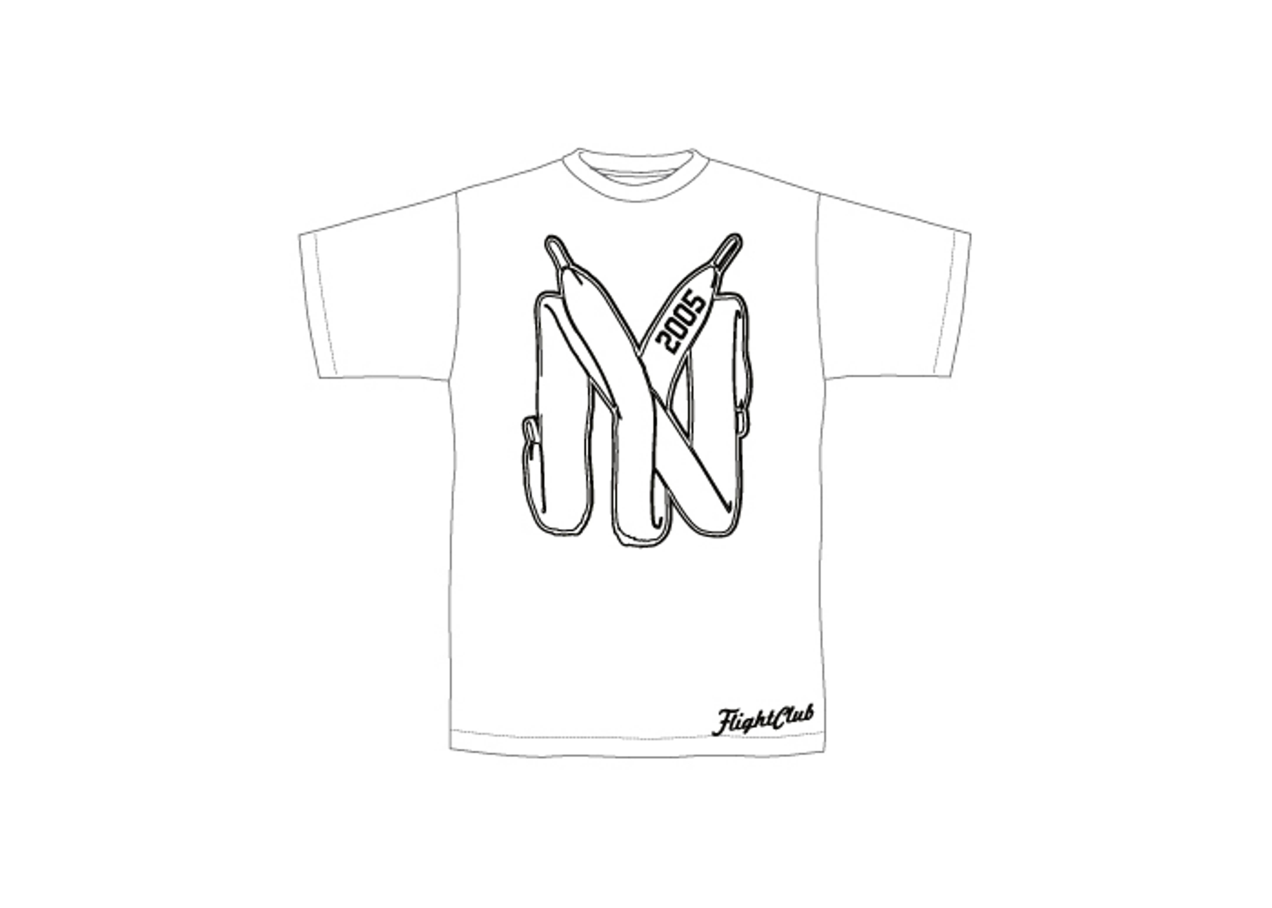 "lace t-shirt ""new york"""