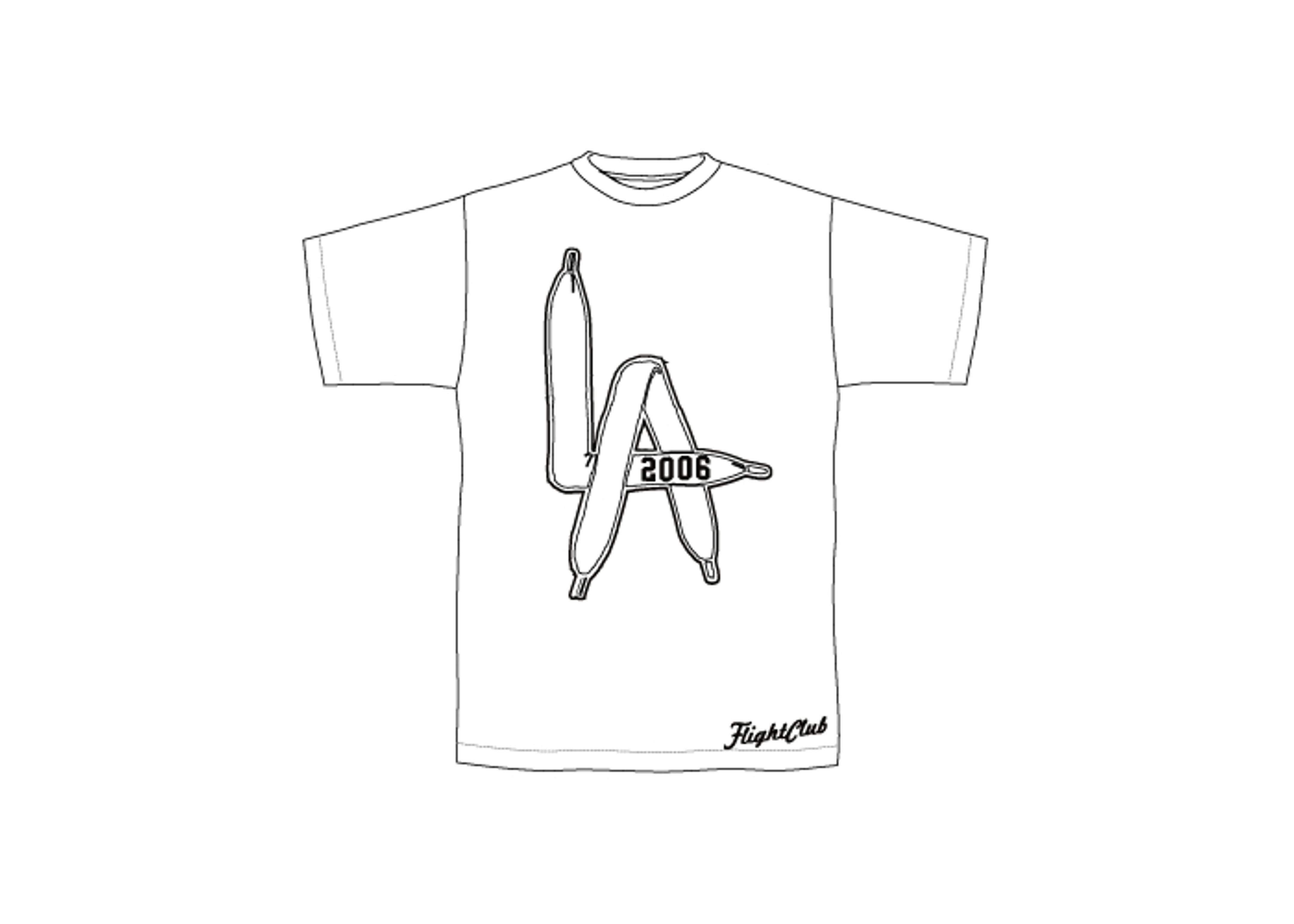 "lace t-shirt ""los angeles"""