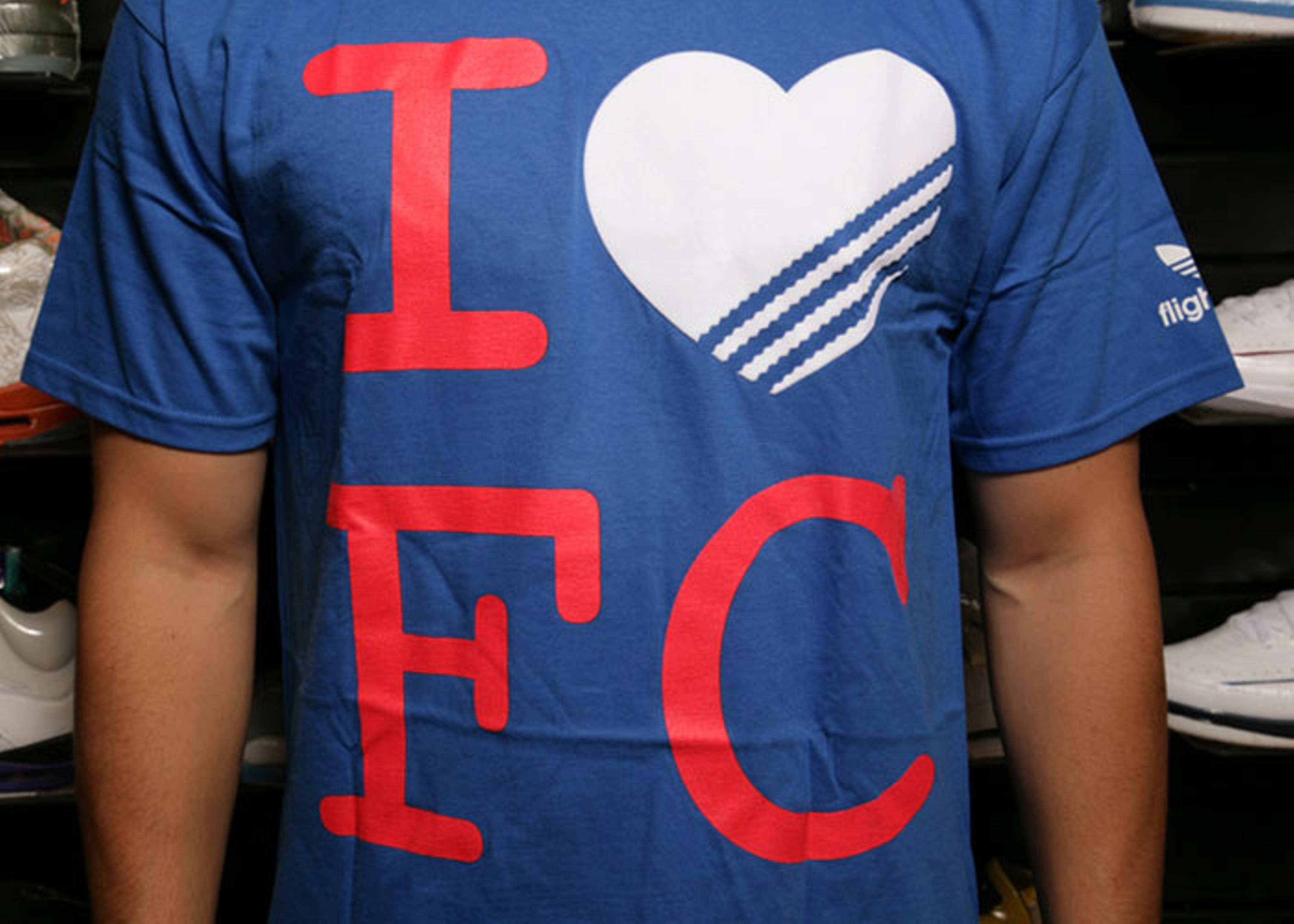 """adidas loves fc t shirt """"brooklyn"""""""