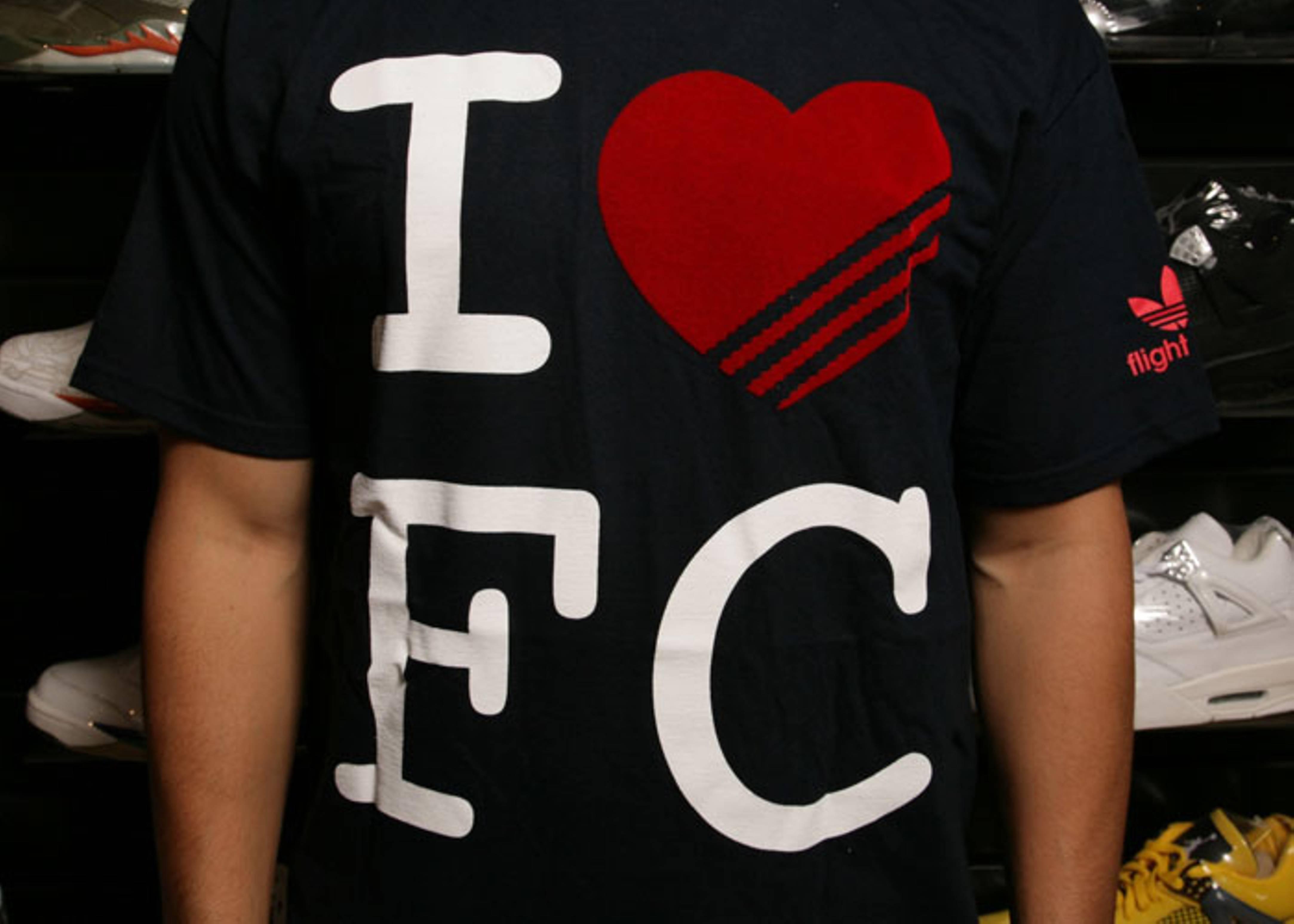"adidas loves fc t shirt ""bronx"""