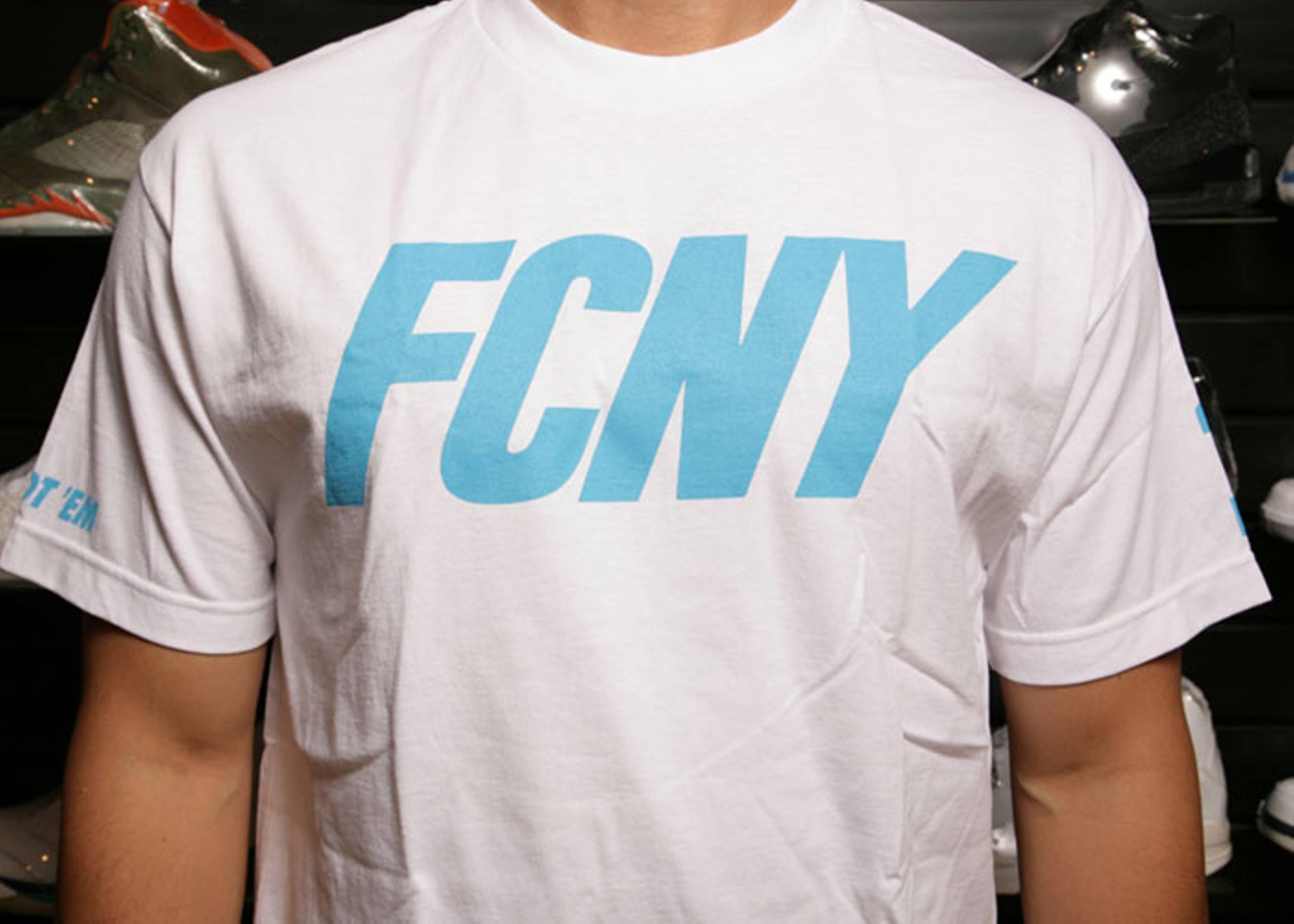fcny logo t shirt