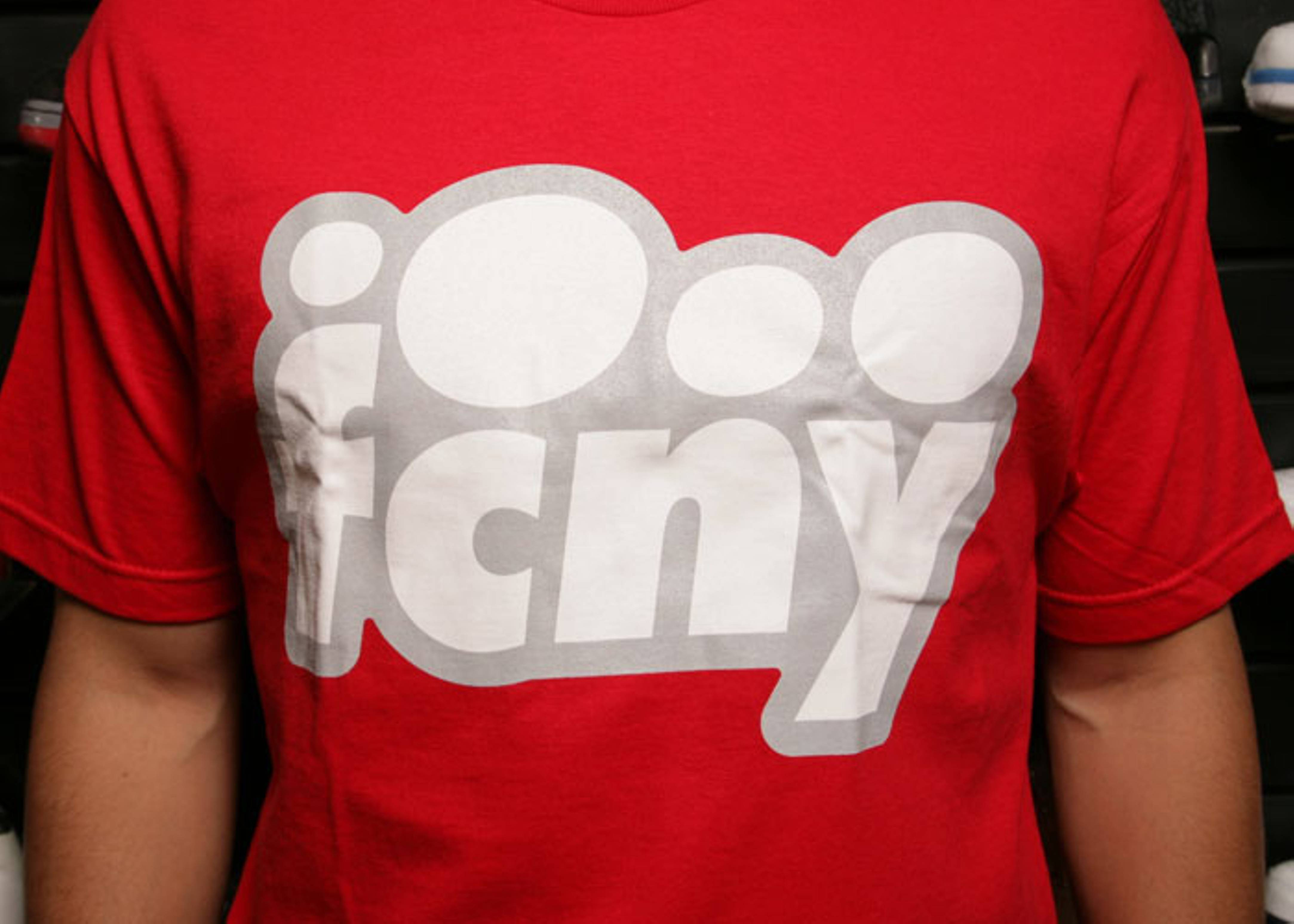 fcny bubble t shirt