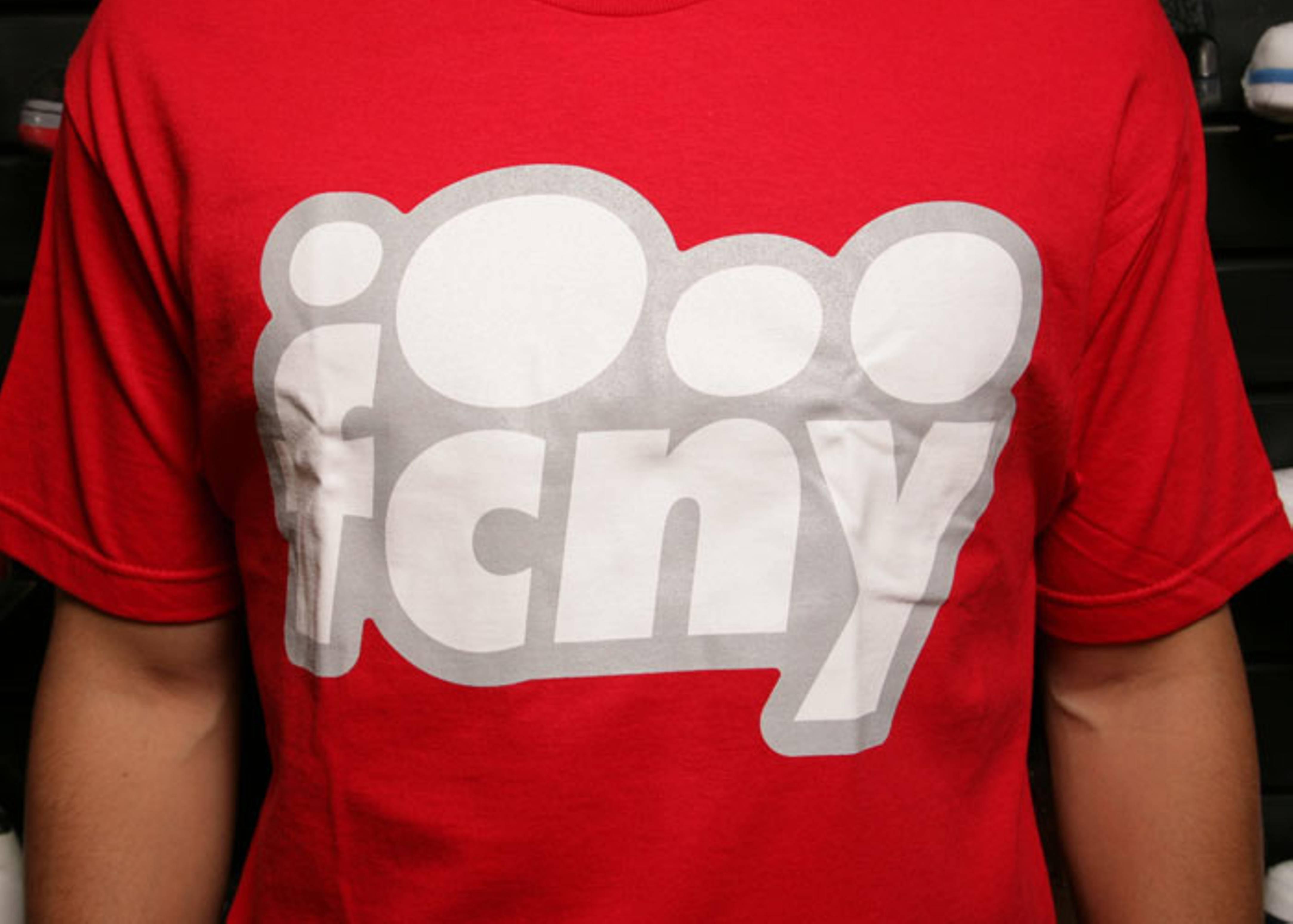 fcny bubble t shirt