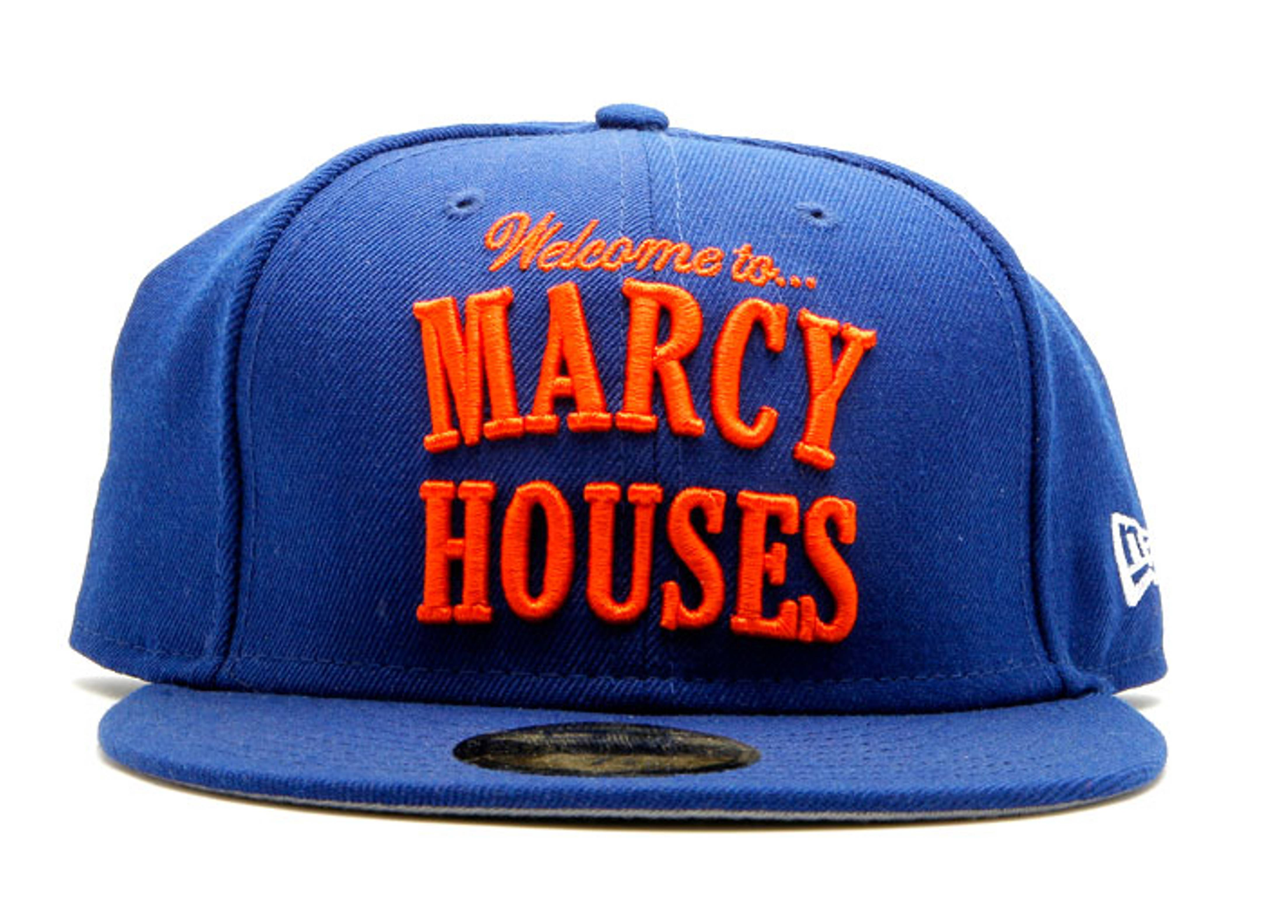 """new era fitted """"marcy houses"""""""