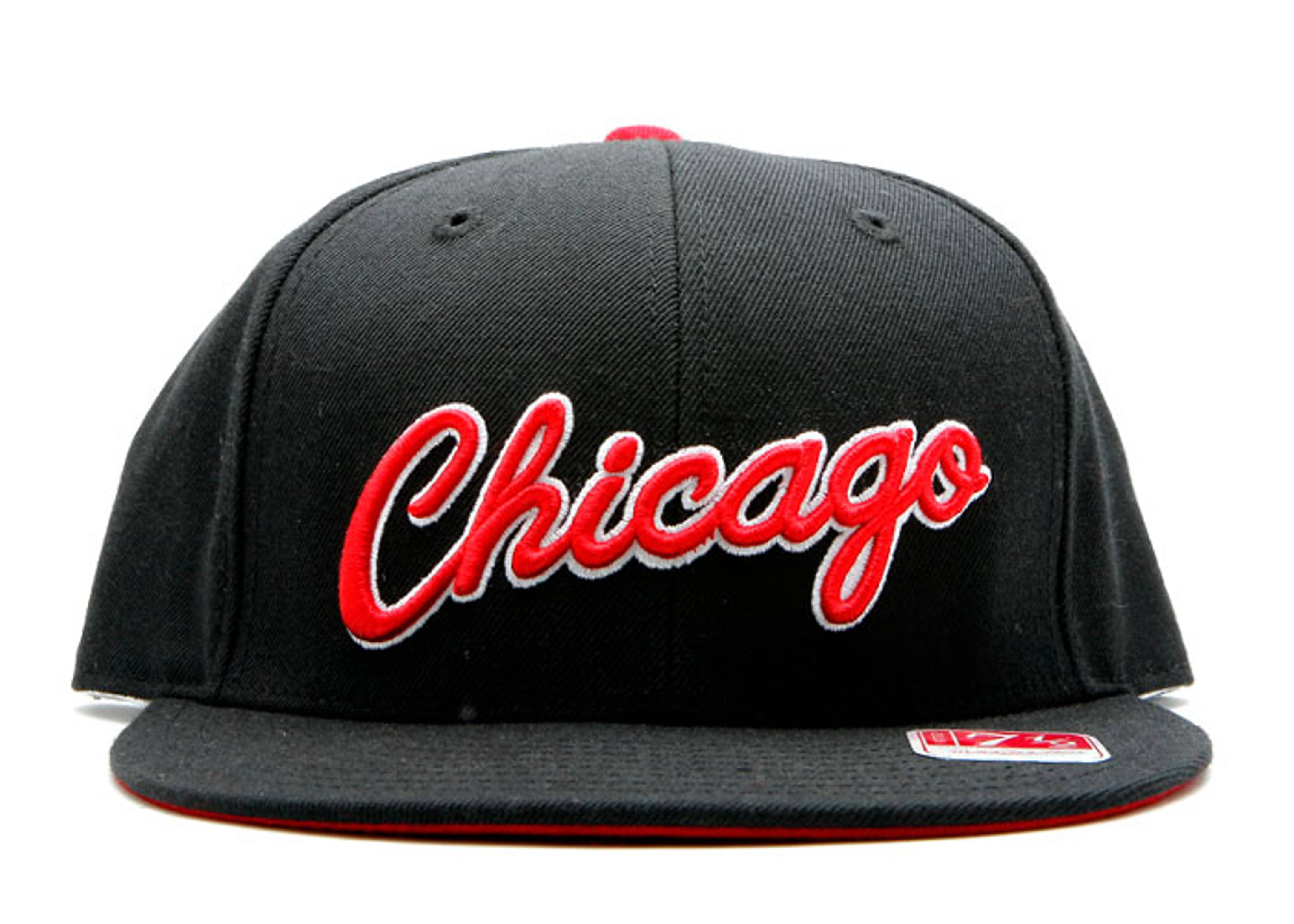 """chicago bulls fitted """"chicago"""""""