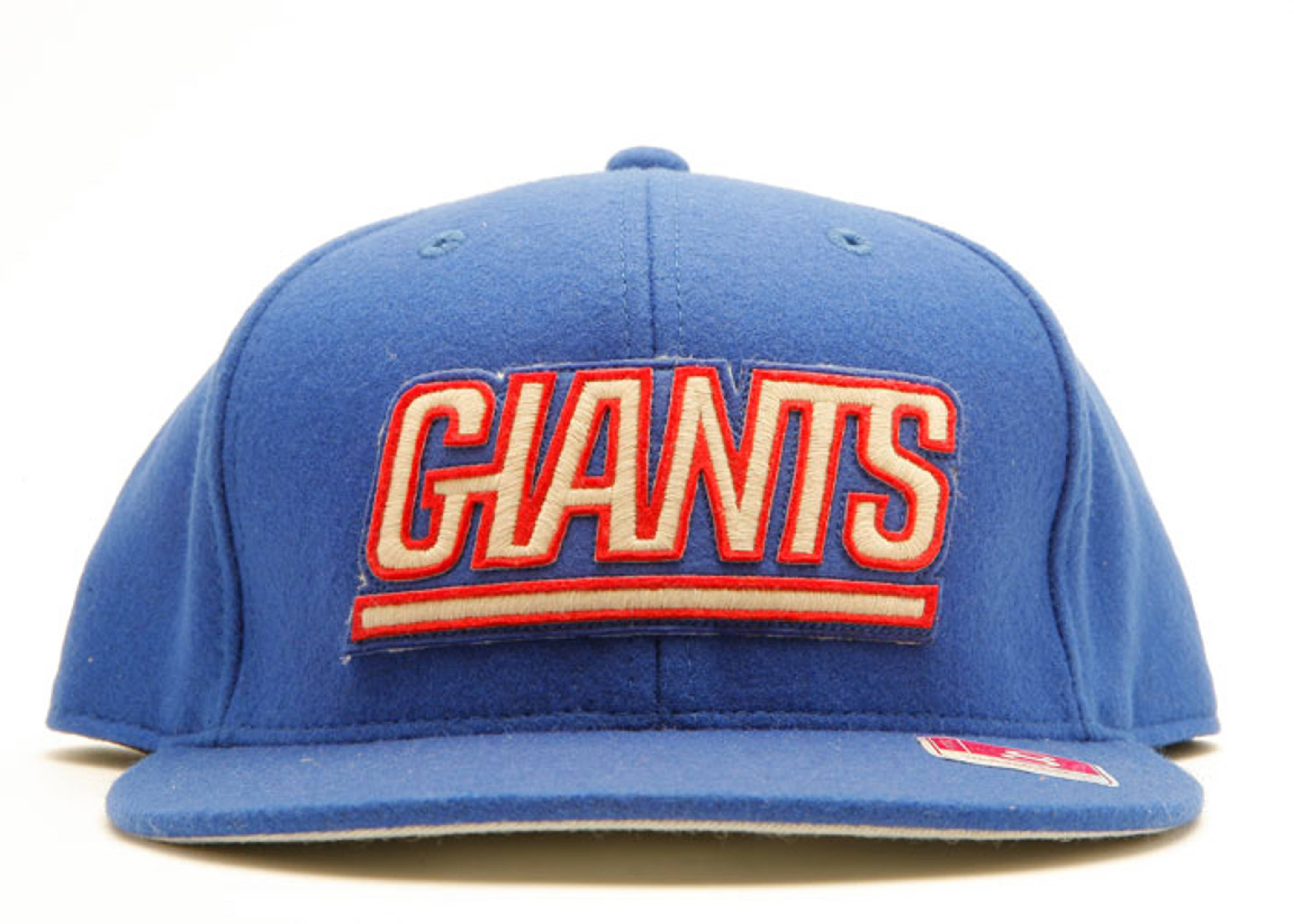 new york giants melton wool fitted