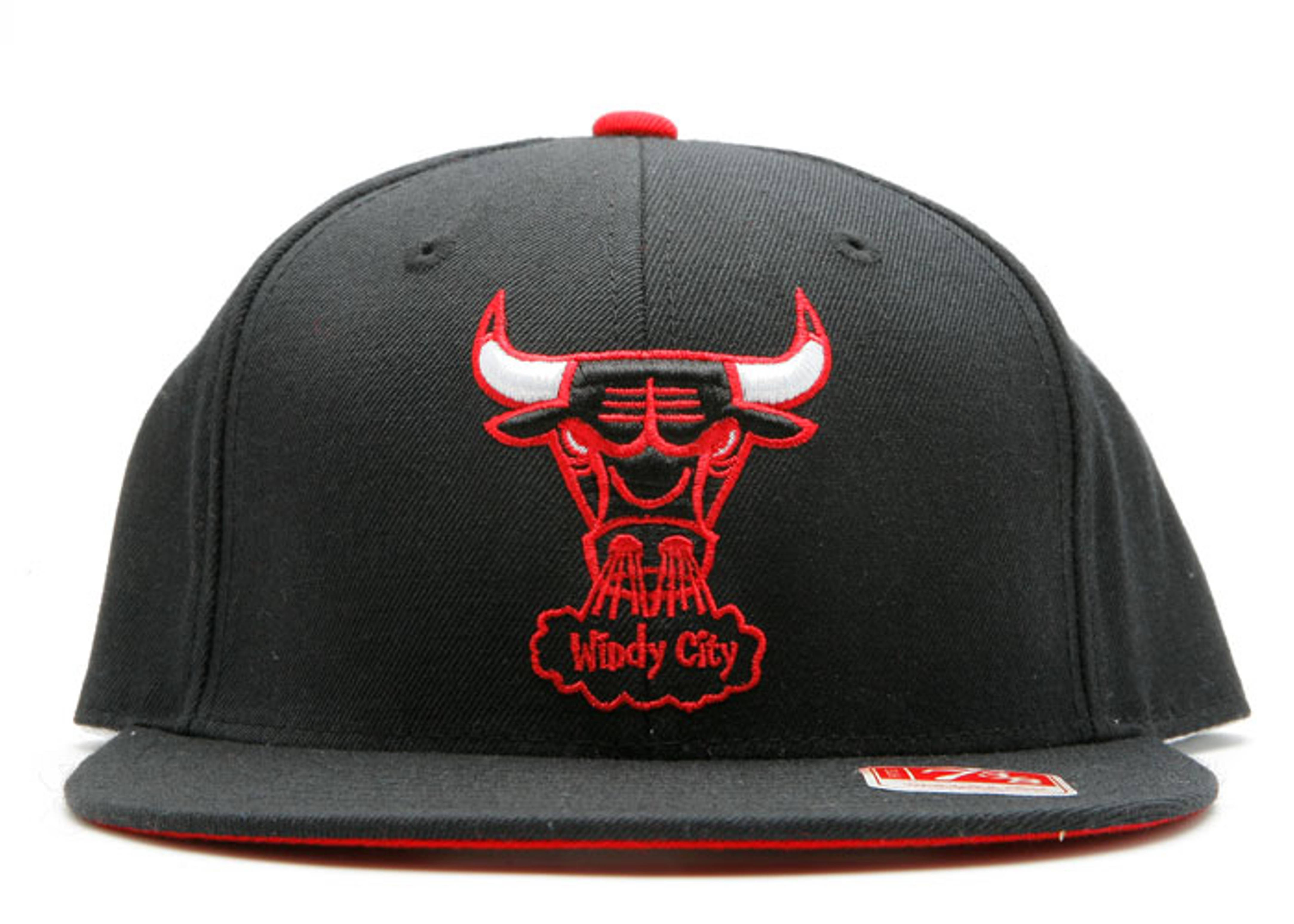 """chicago bulls fitted """"windy city"""""""