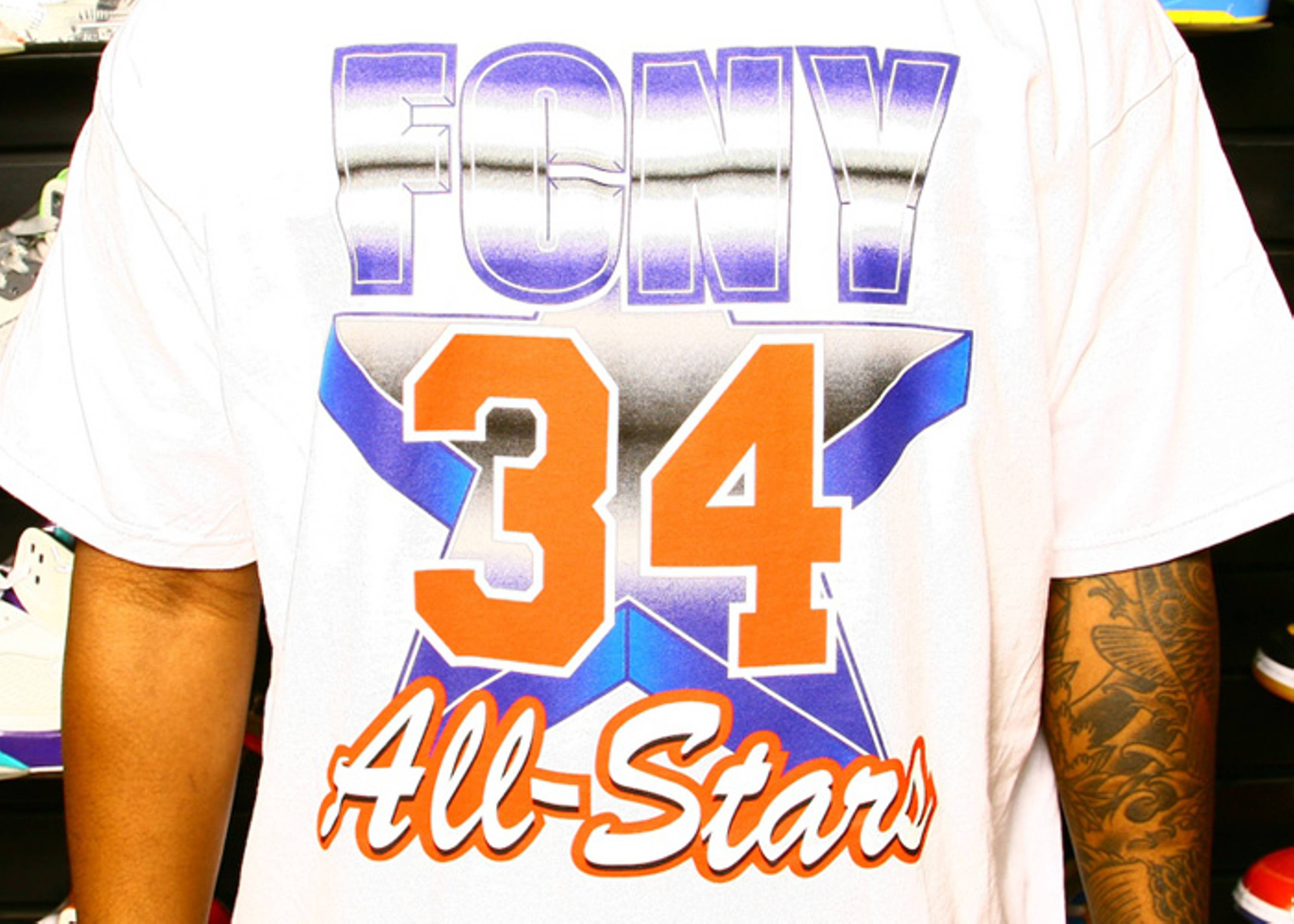 91 all star east t-shirt