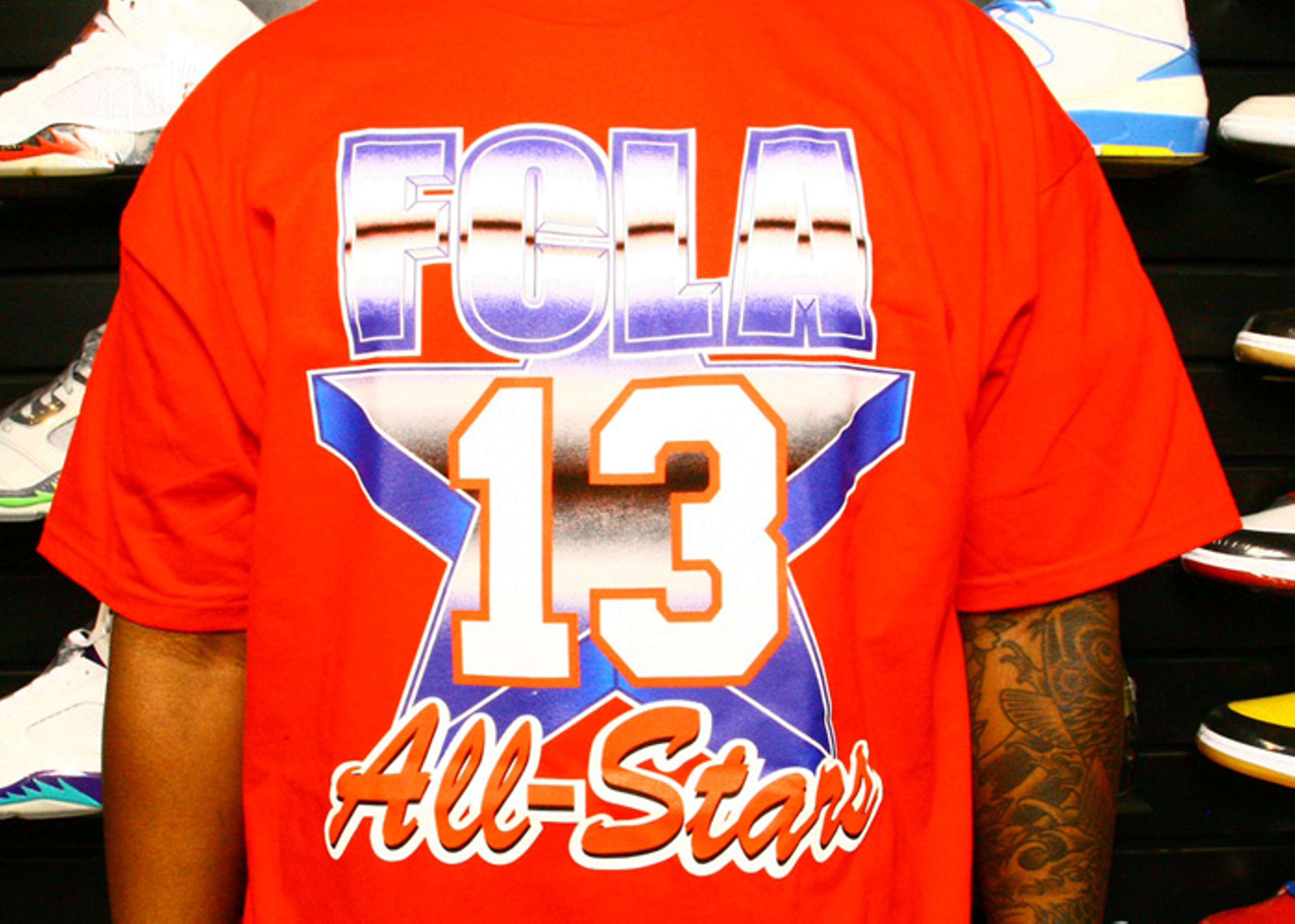 91 all star west t-shirt