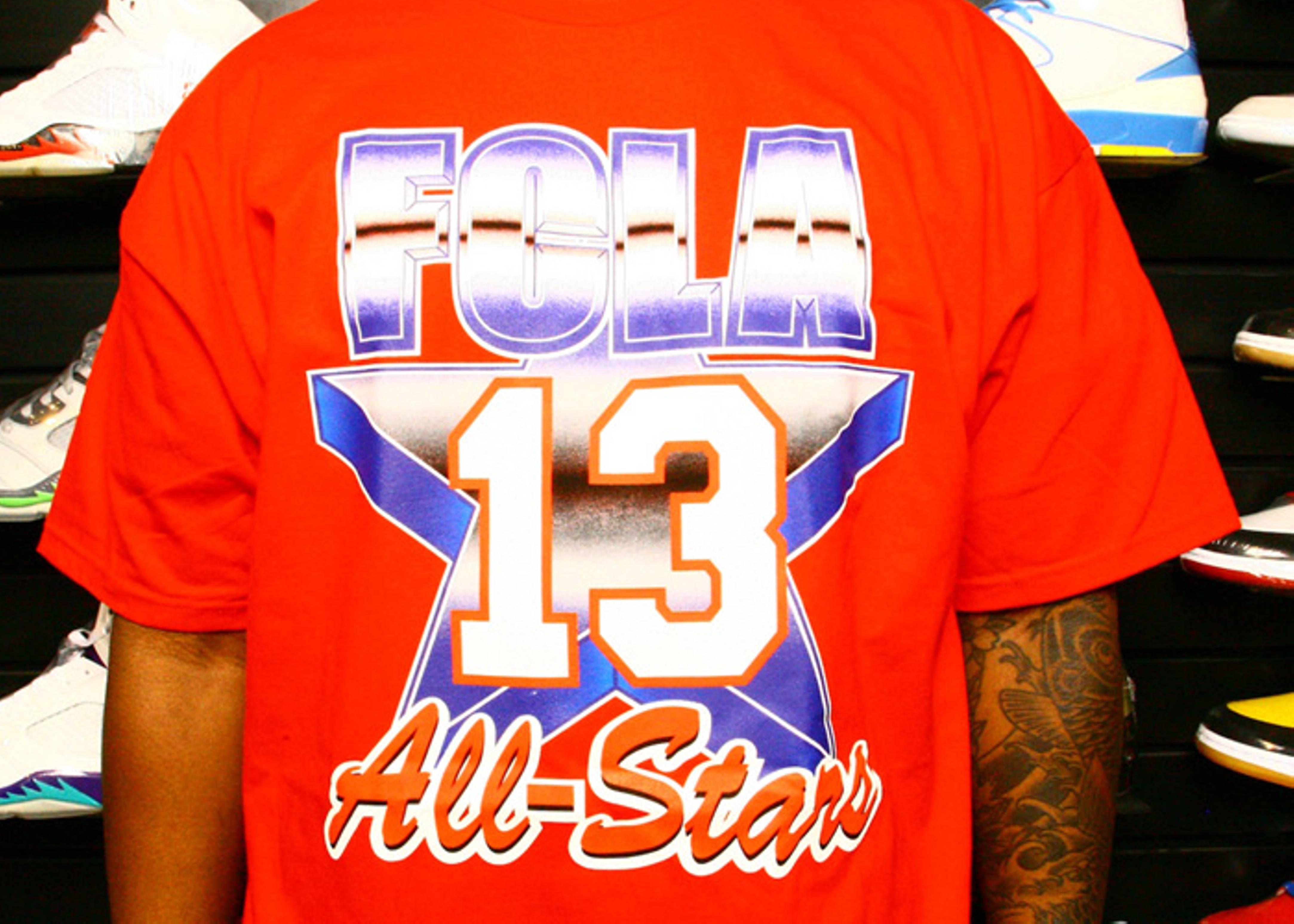 91 all star west t-shirt