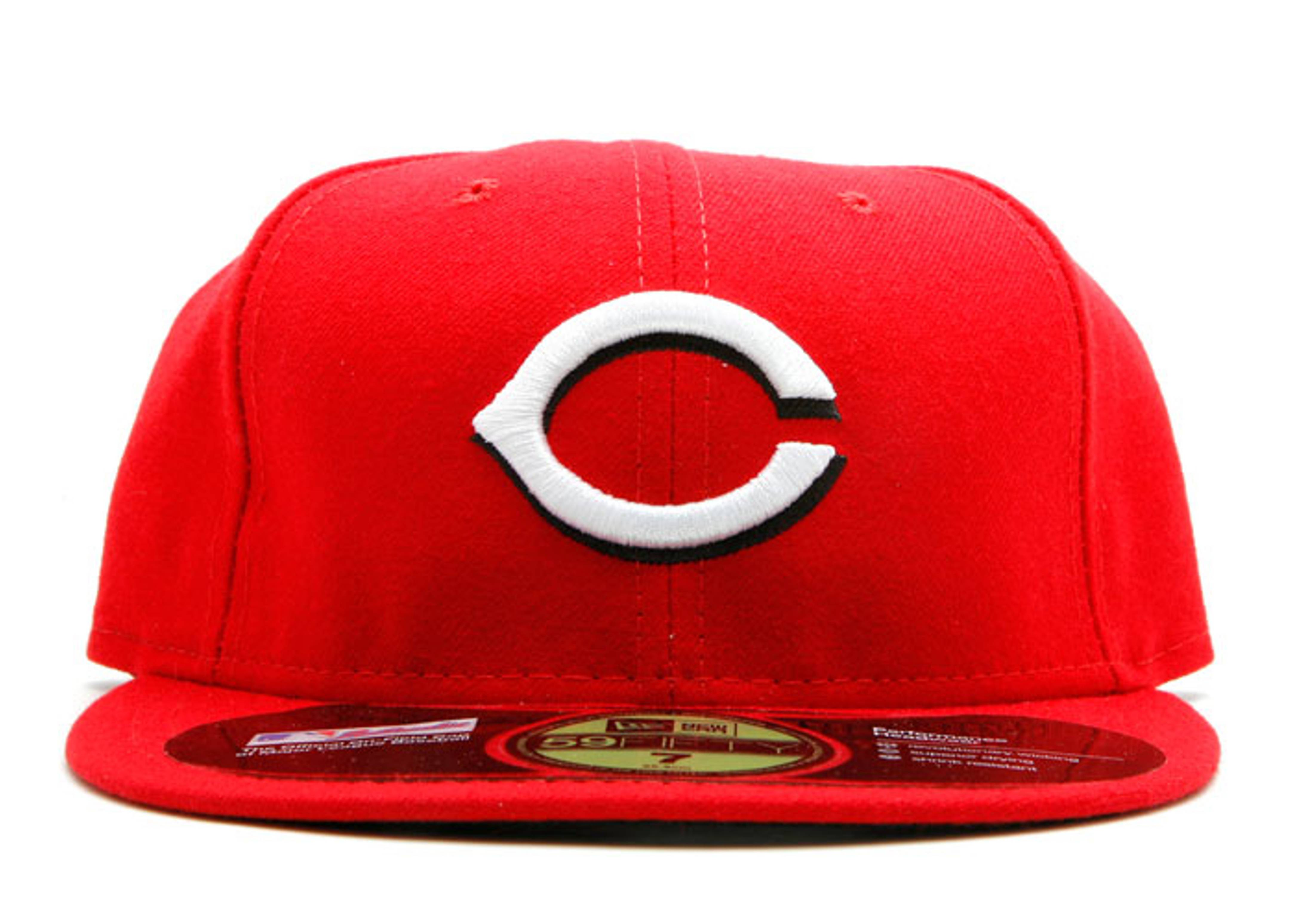 cincinnati reds fitted