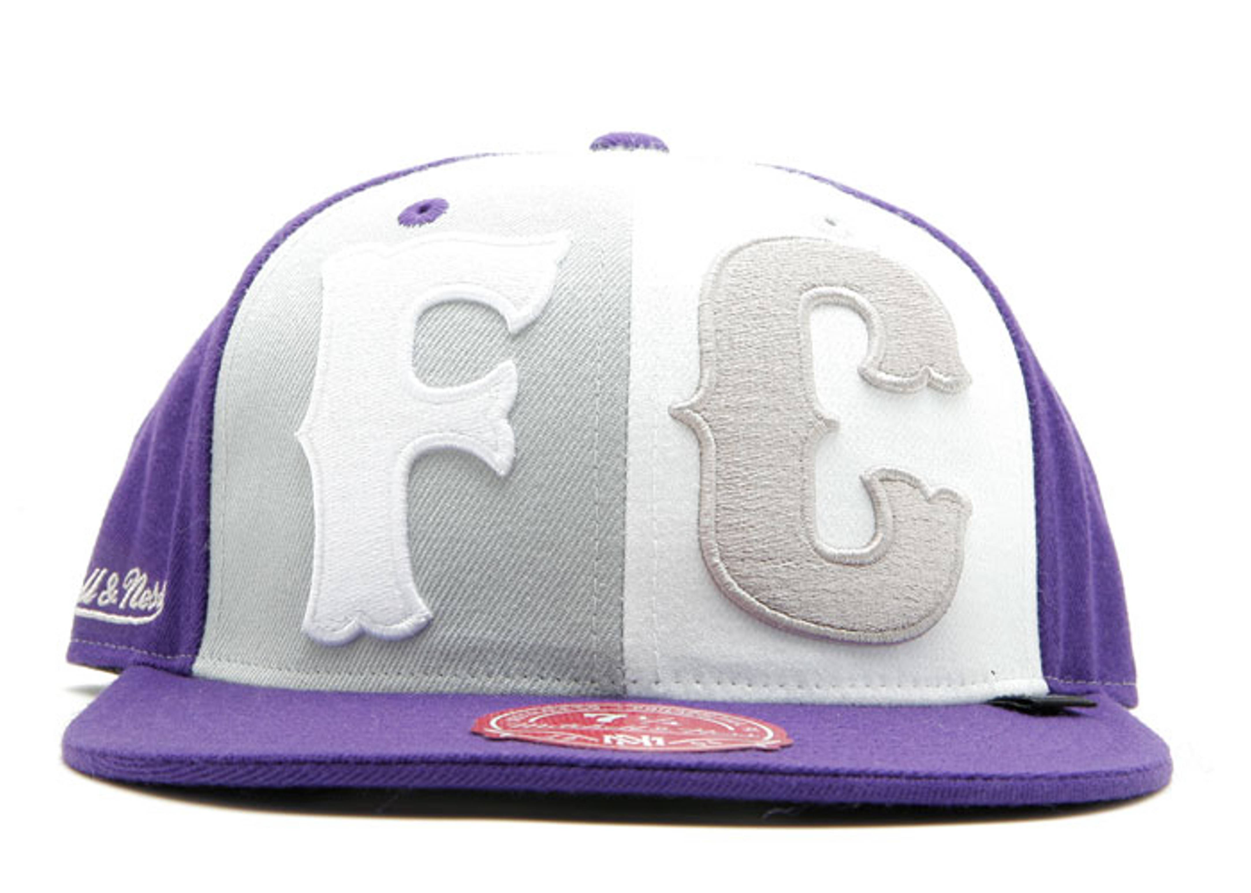 """fc x mitchell & ness fitted """"clowns"""""""