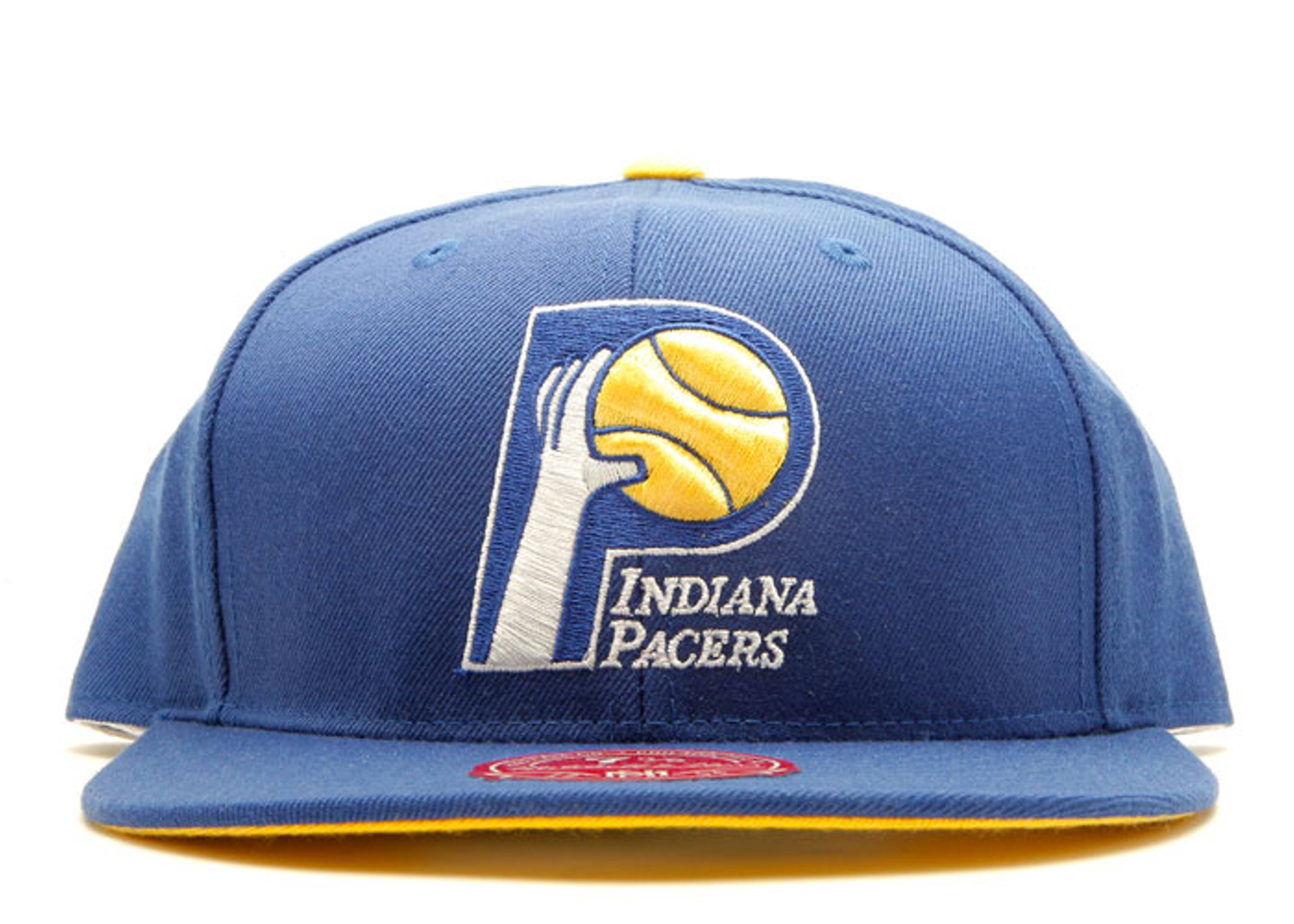 best loved 09dbb 703b6 Indiana Pacers Fitted - Mitchell & Ness - tk07tpc5pacer ...