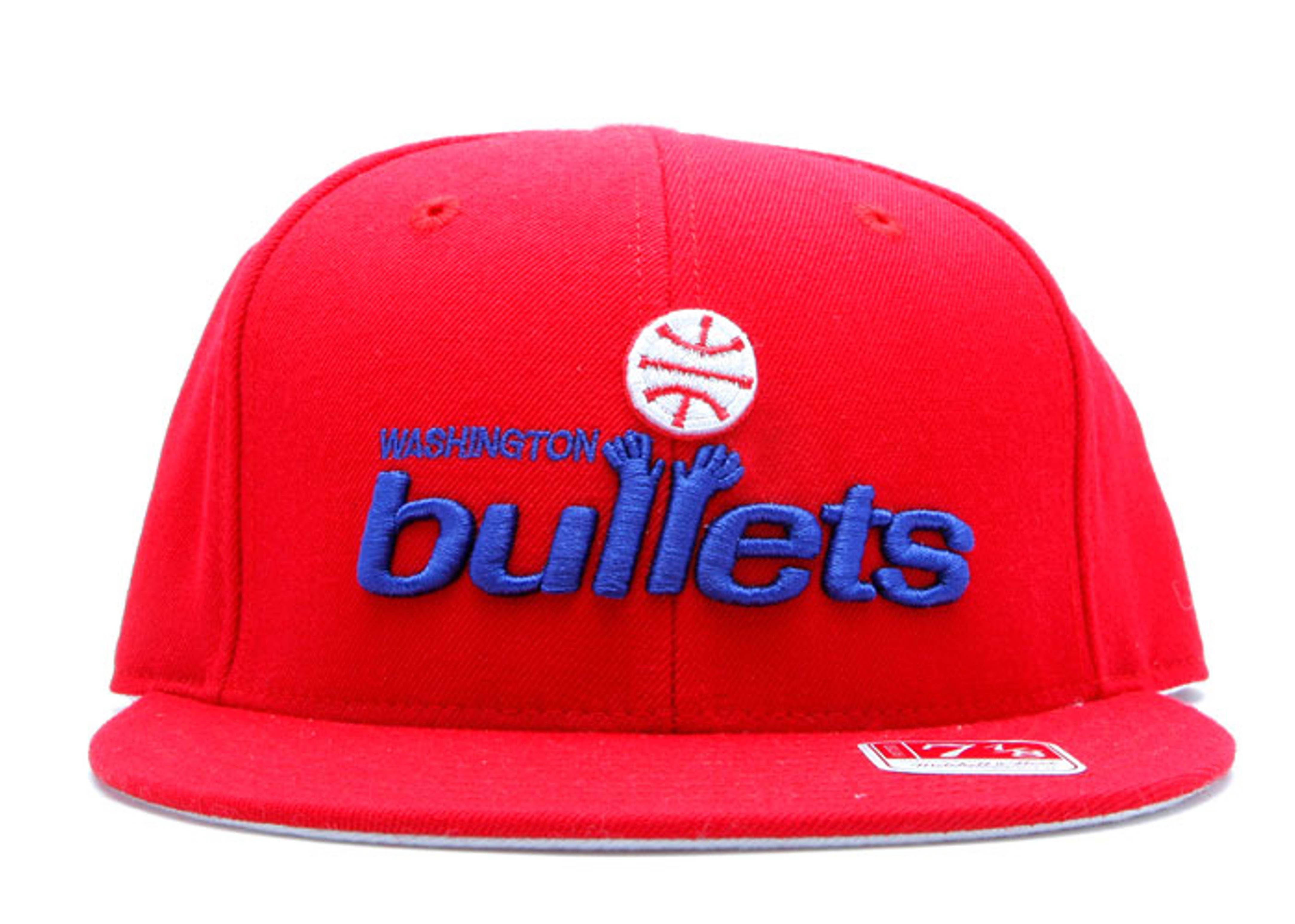 washington bullets fitted