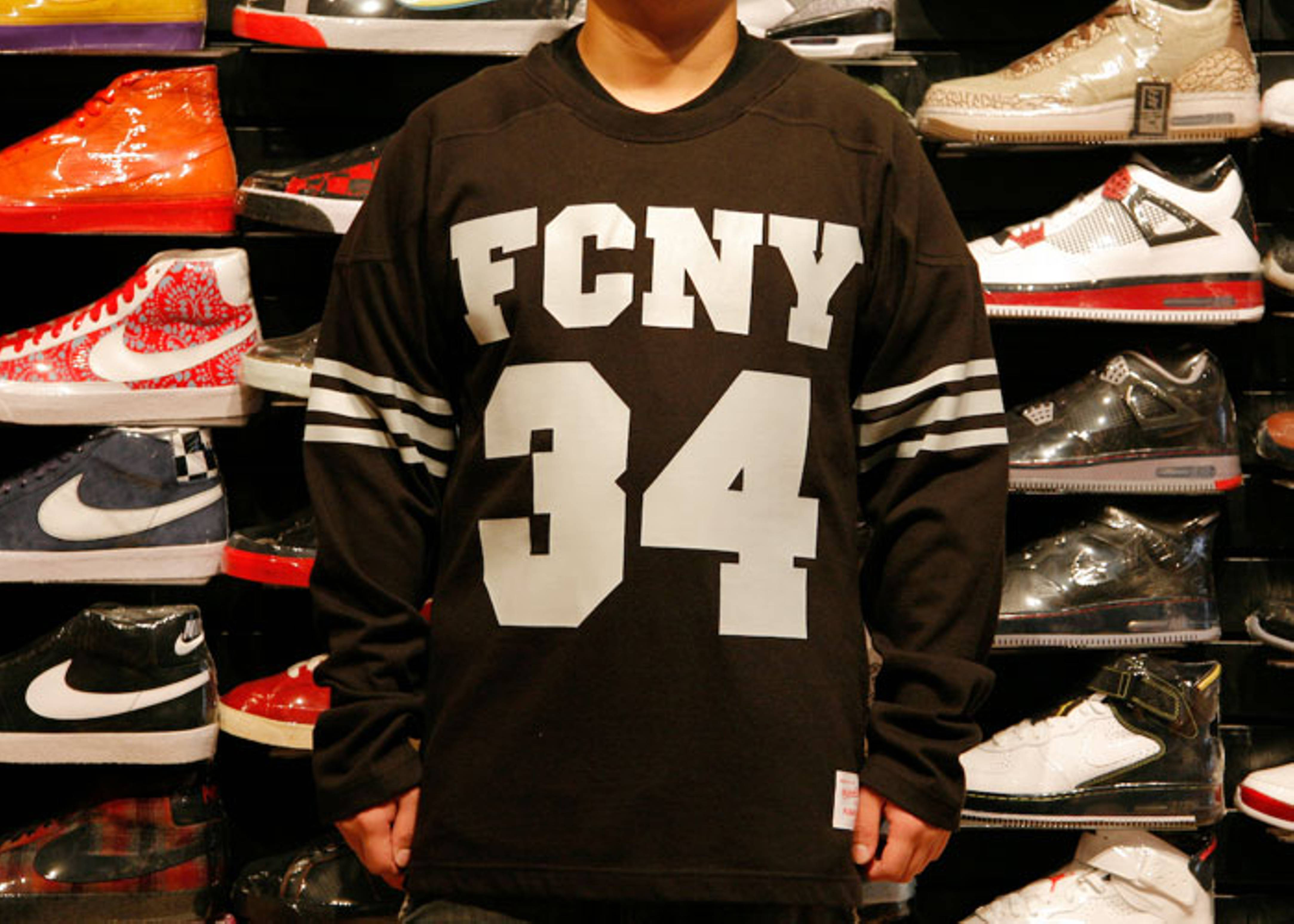 """fc x mitchell & ness jersey """"bo jackson"""""""