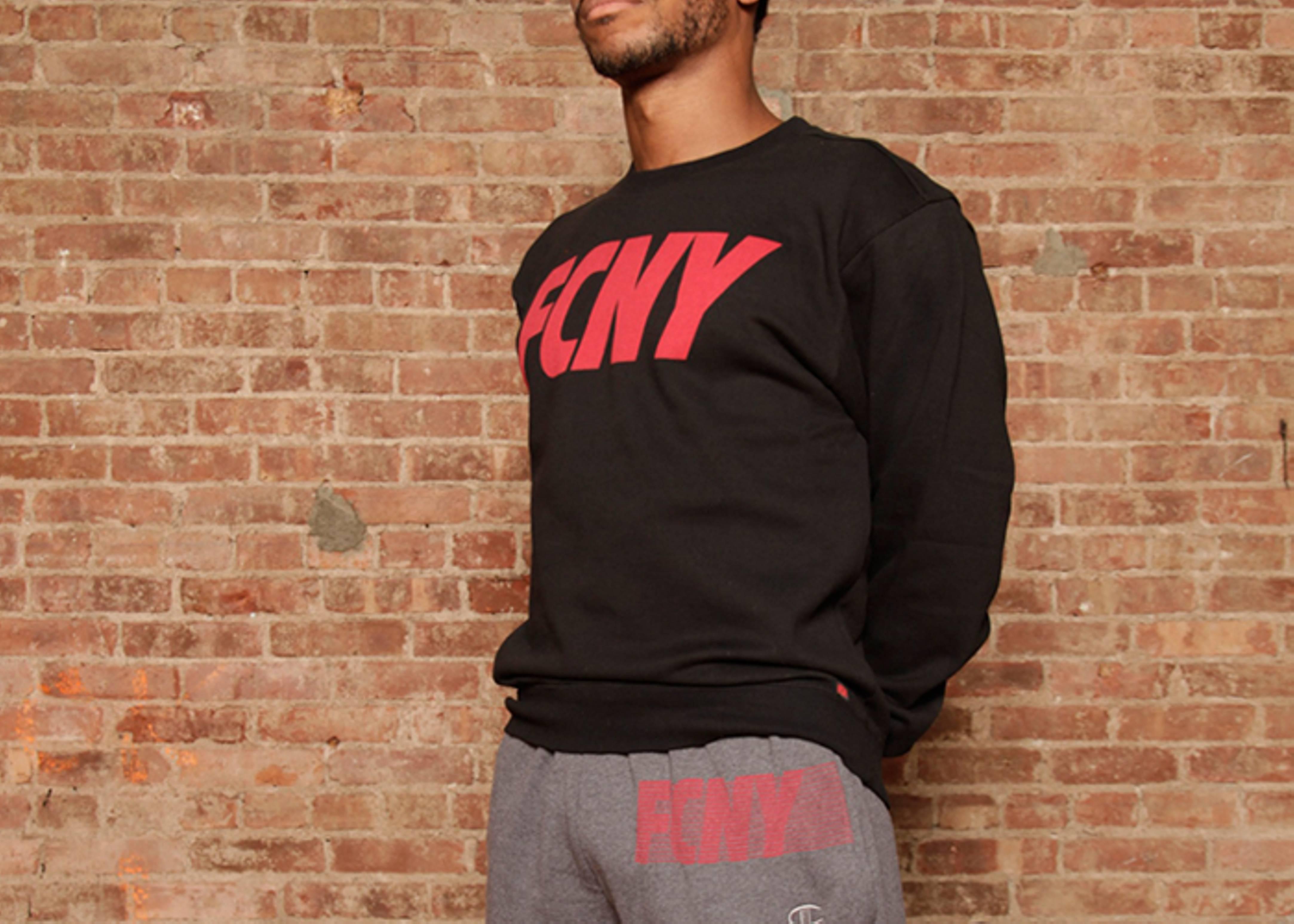 fcny subtle stripe sweatpants