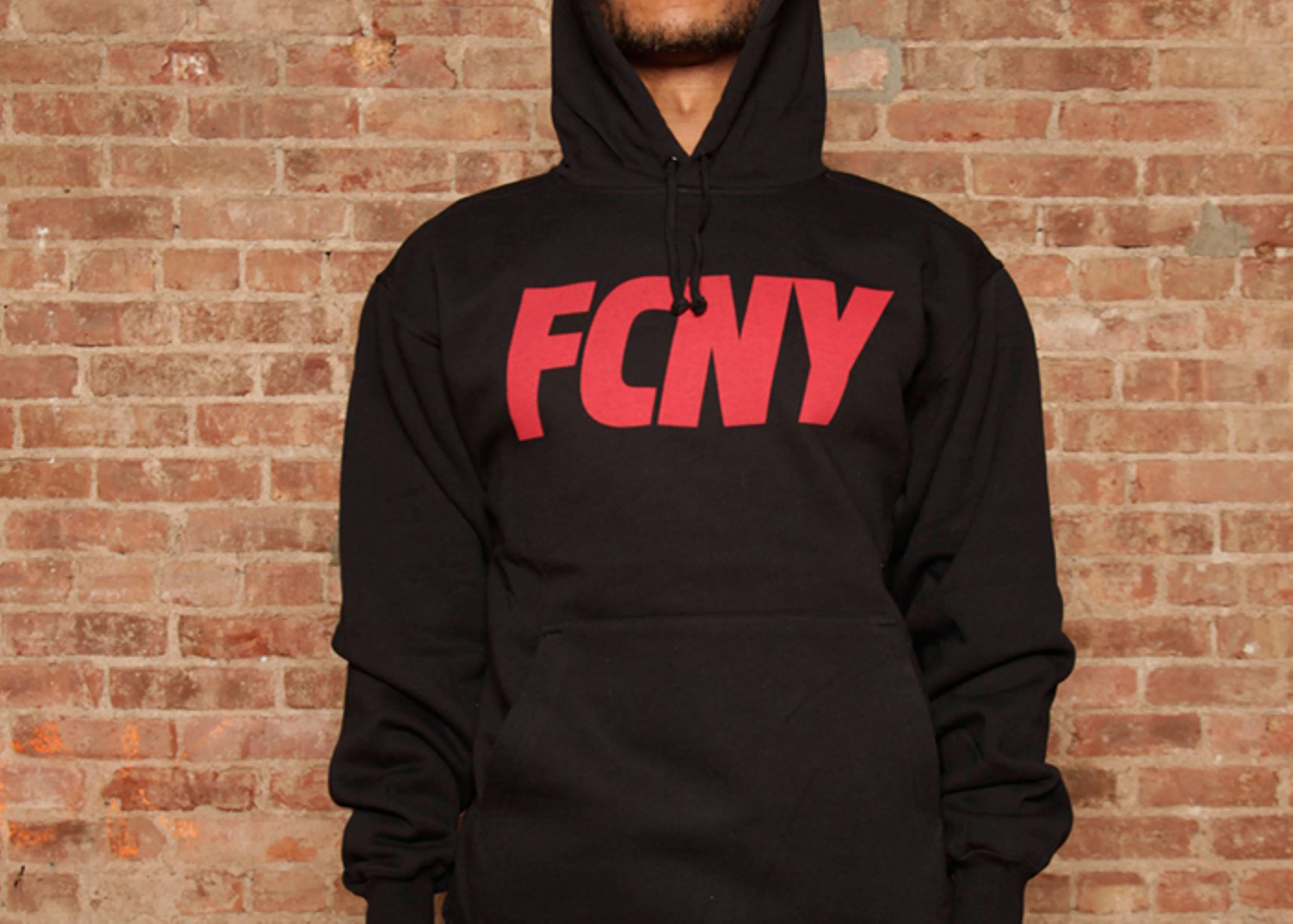fcny slant logo hoodie