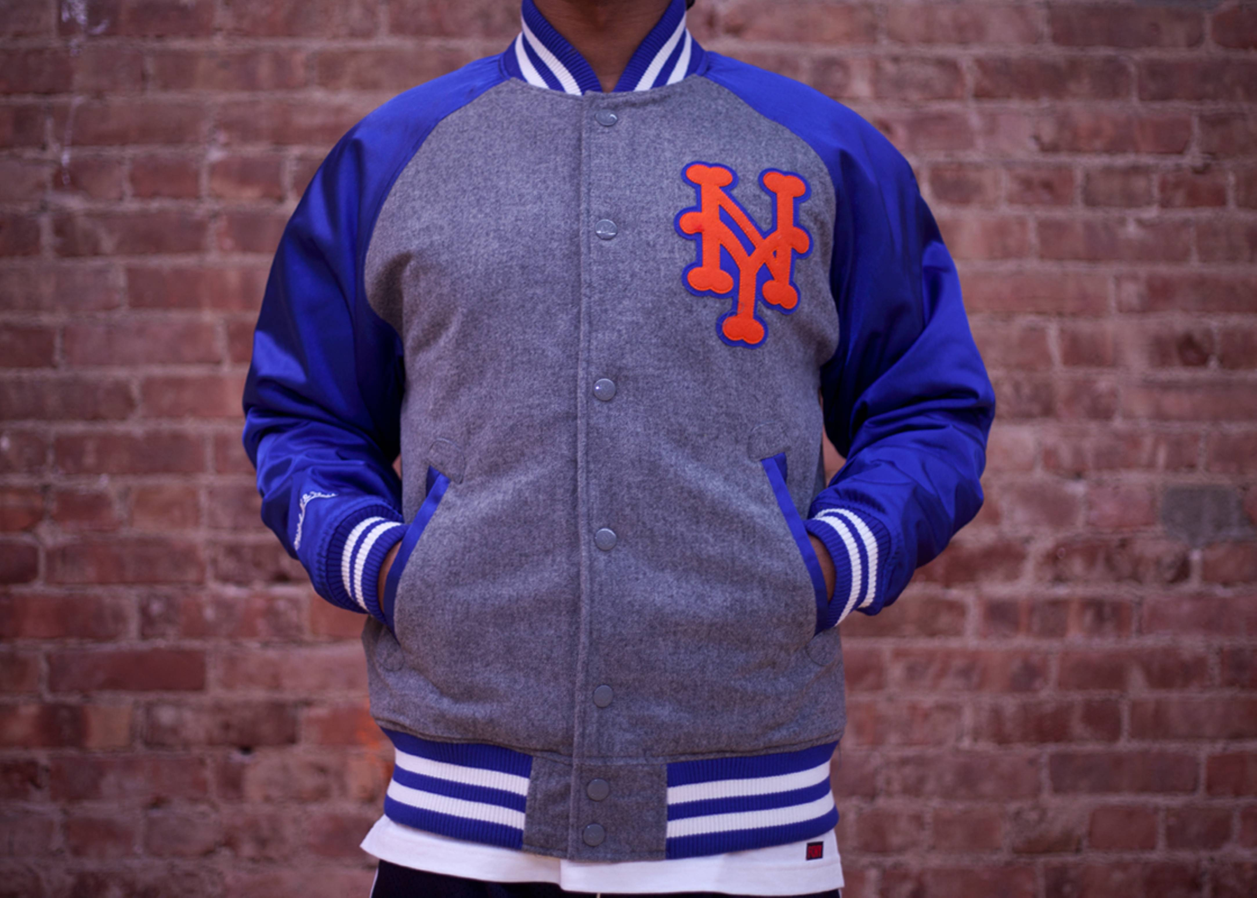 new york mets triple play jacket