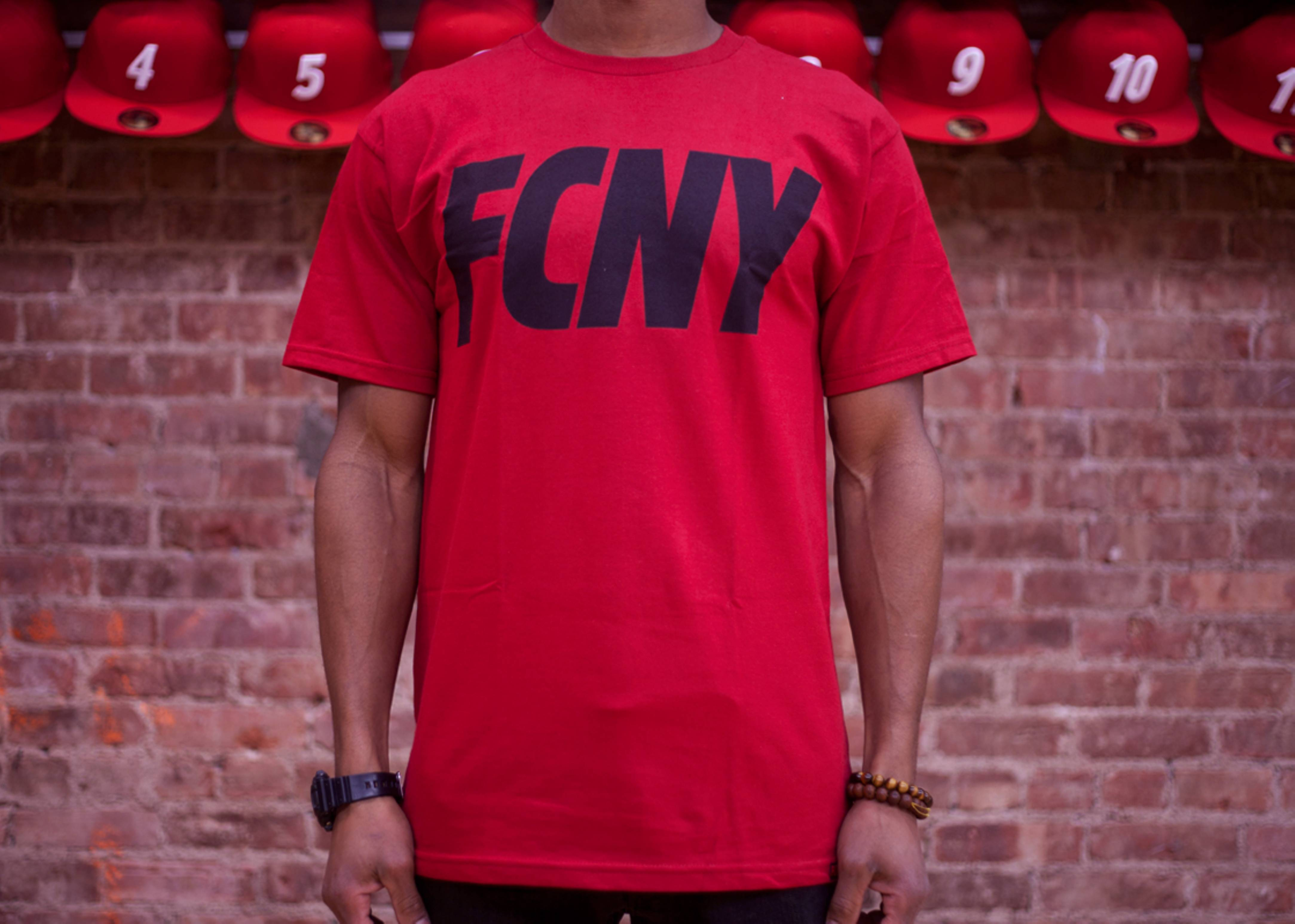 fcny slant short sleeve t-shirt