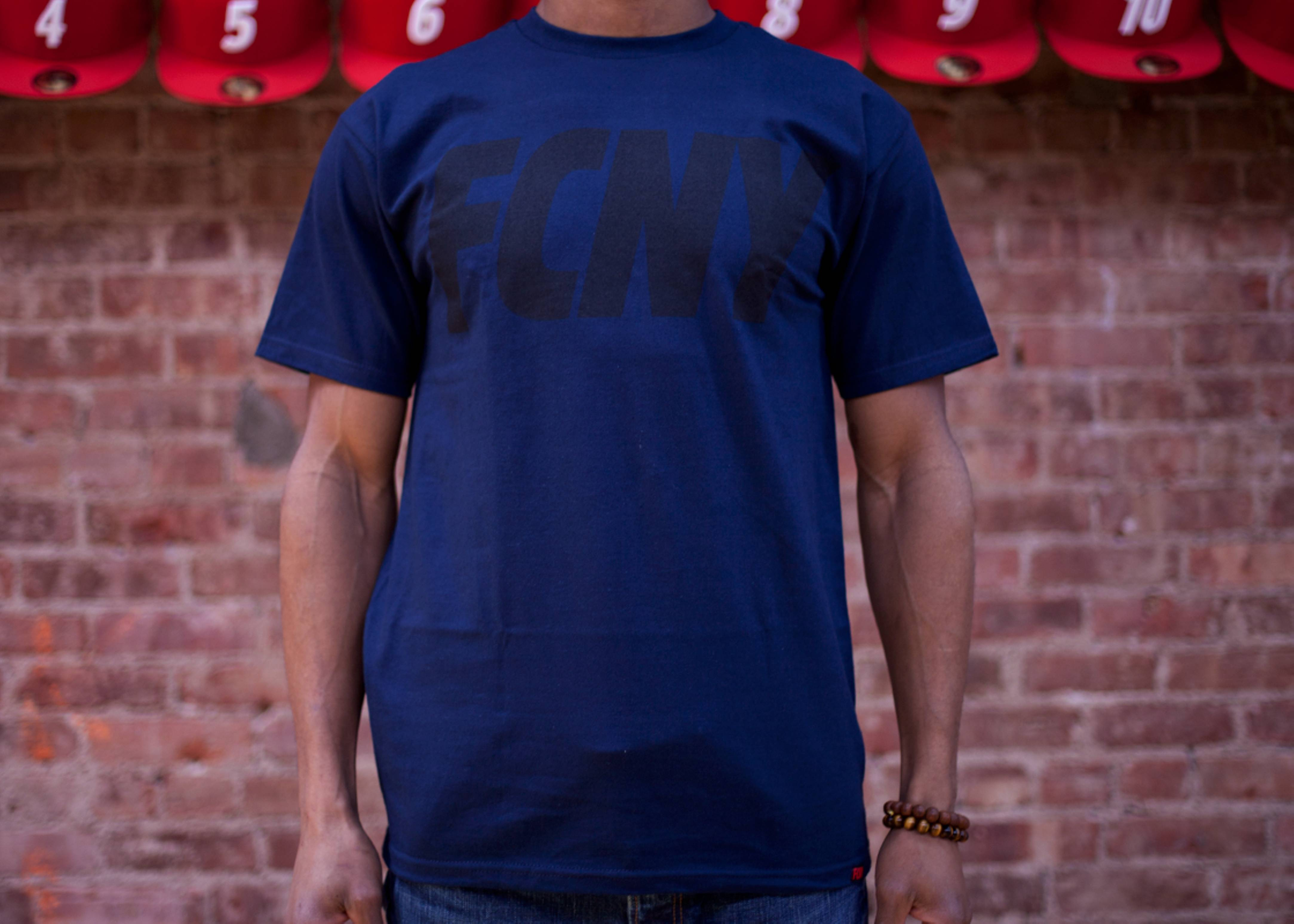 fcny slant short sleeve t-shirt