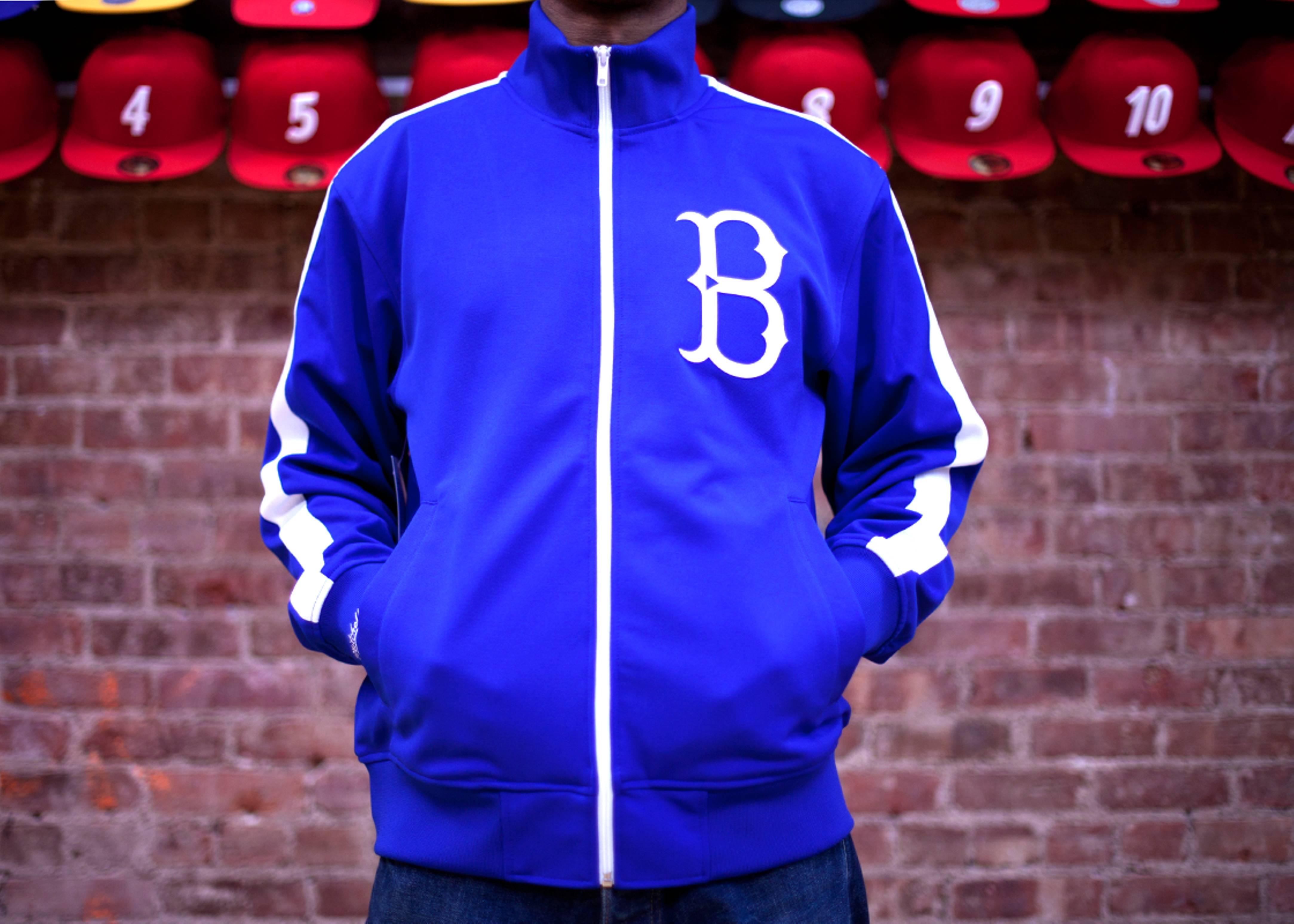 brooklyn dodgers pinch hitter track jacket