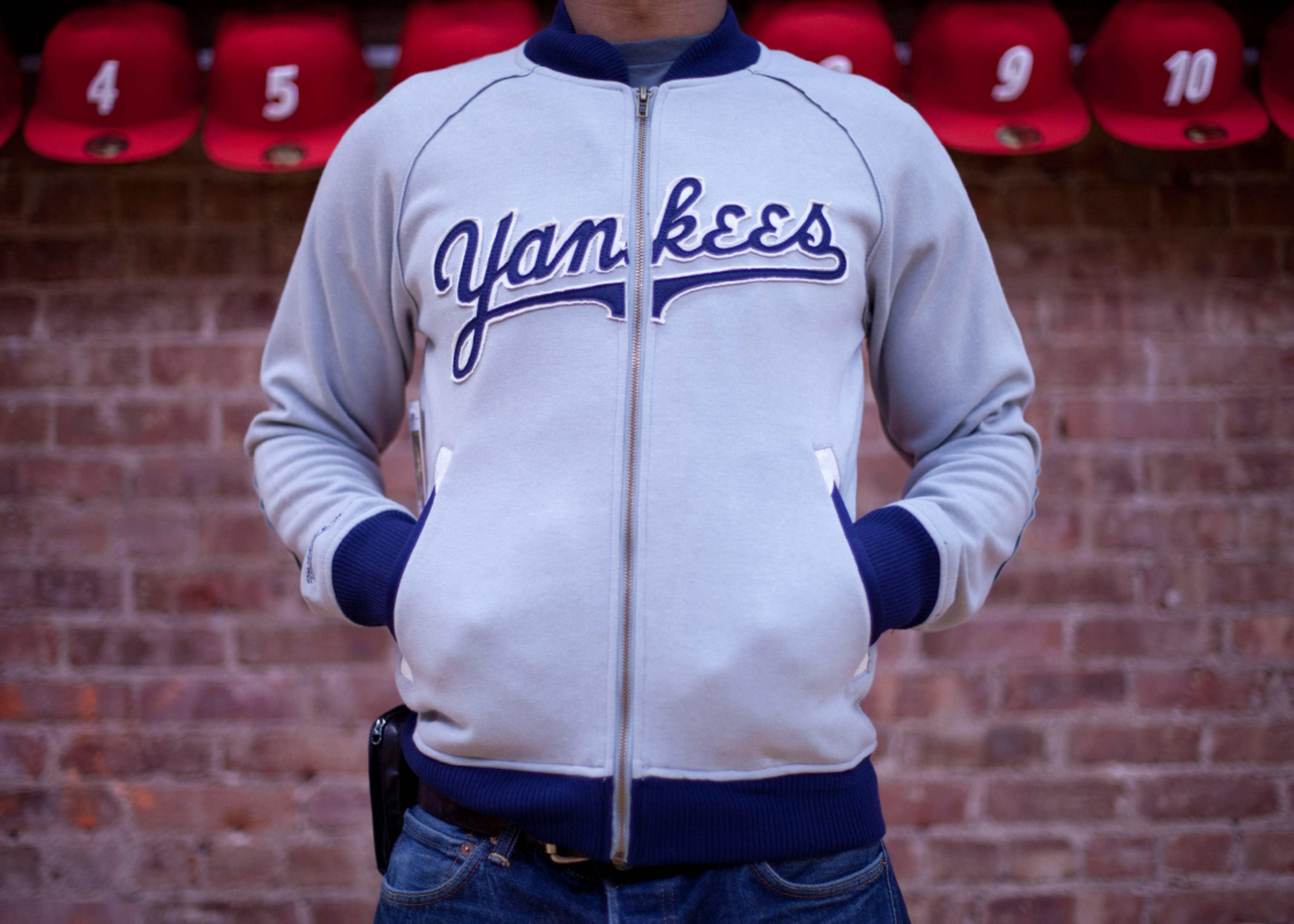 new york yankees intrasquad track jacket