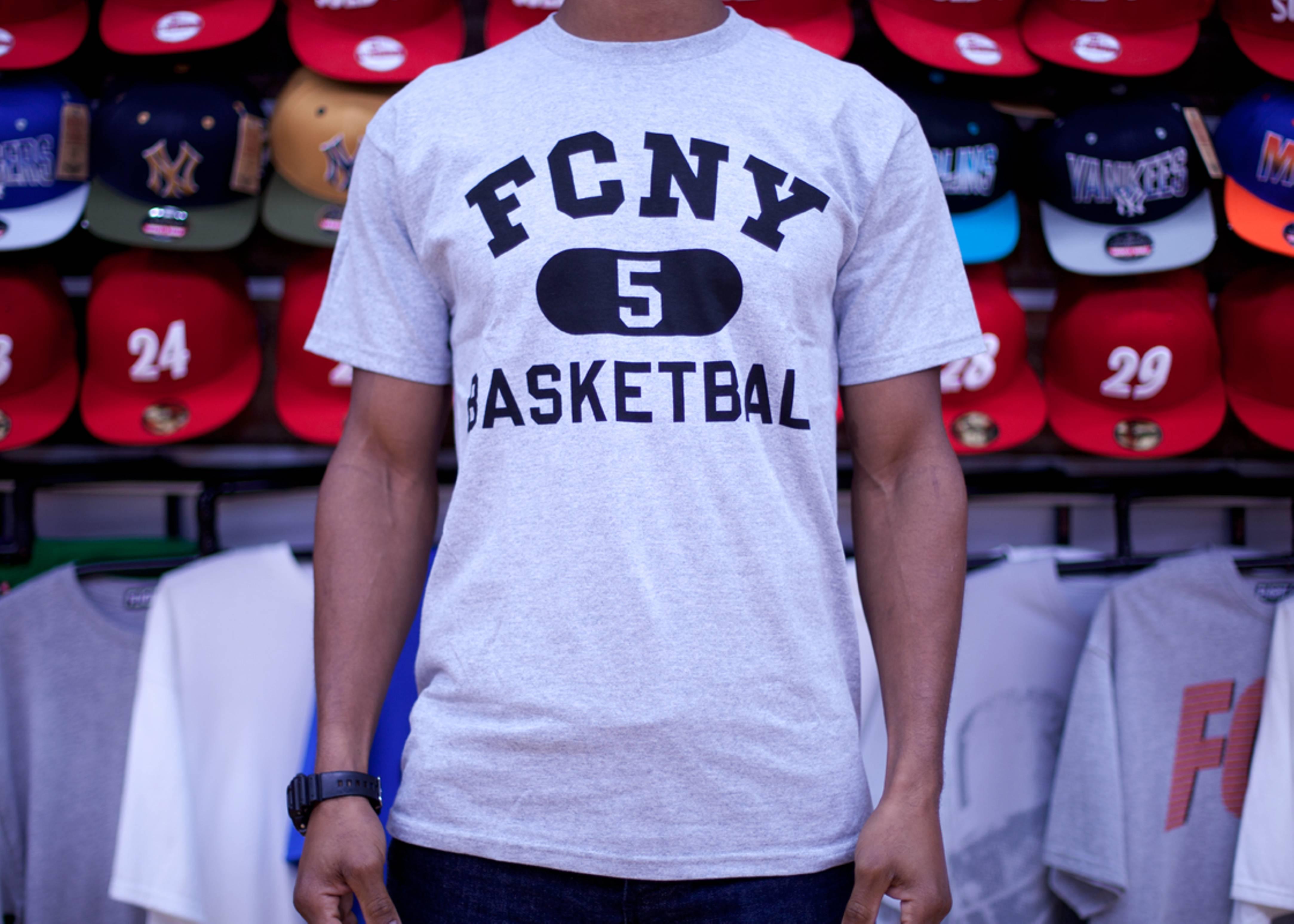 fcny varsity short sleeve t-shirt