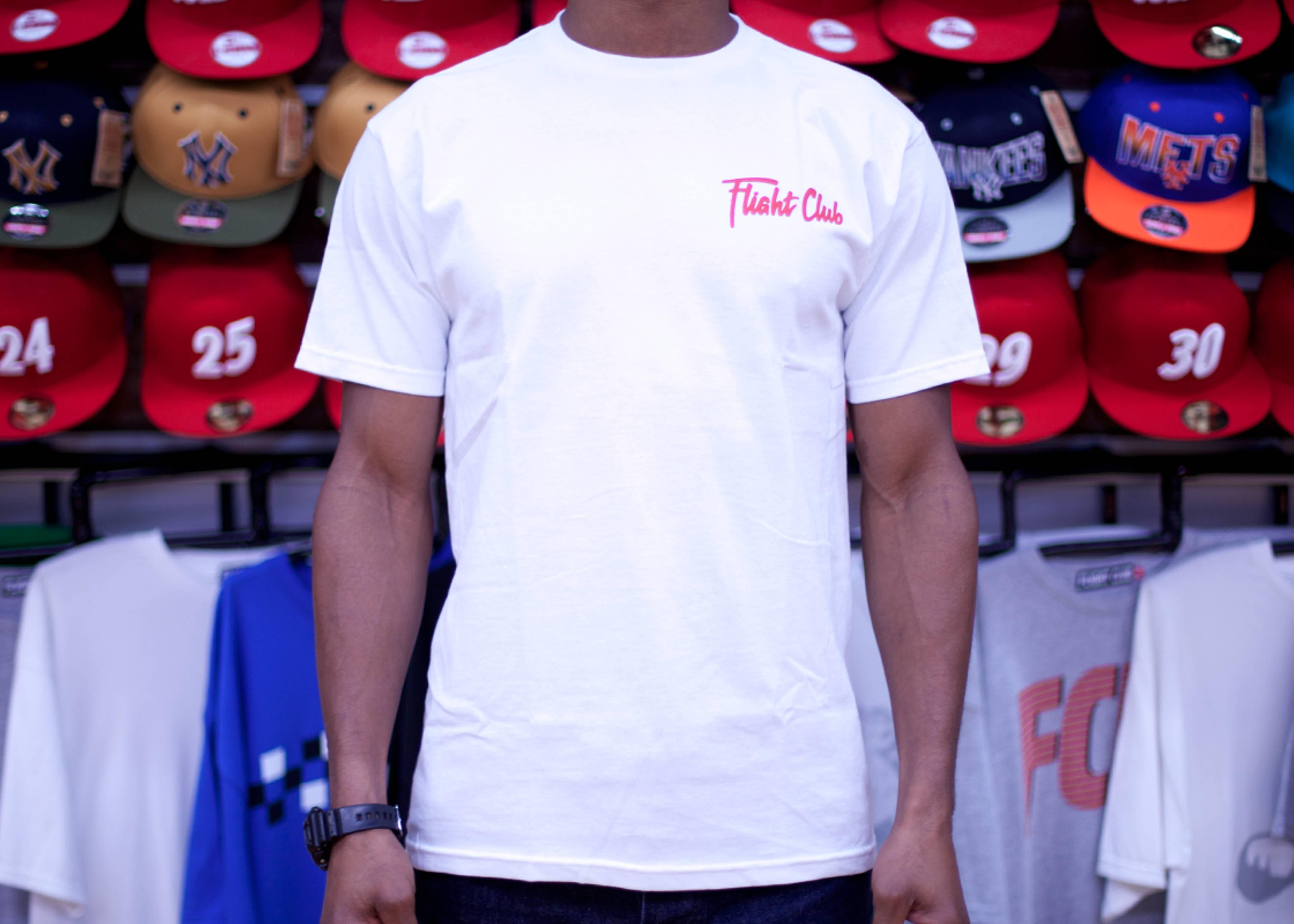 fcny script short sleeve t-shirt