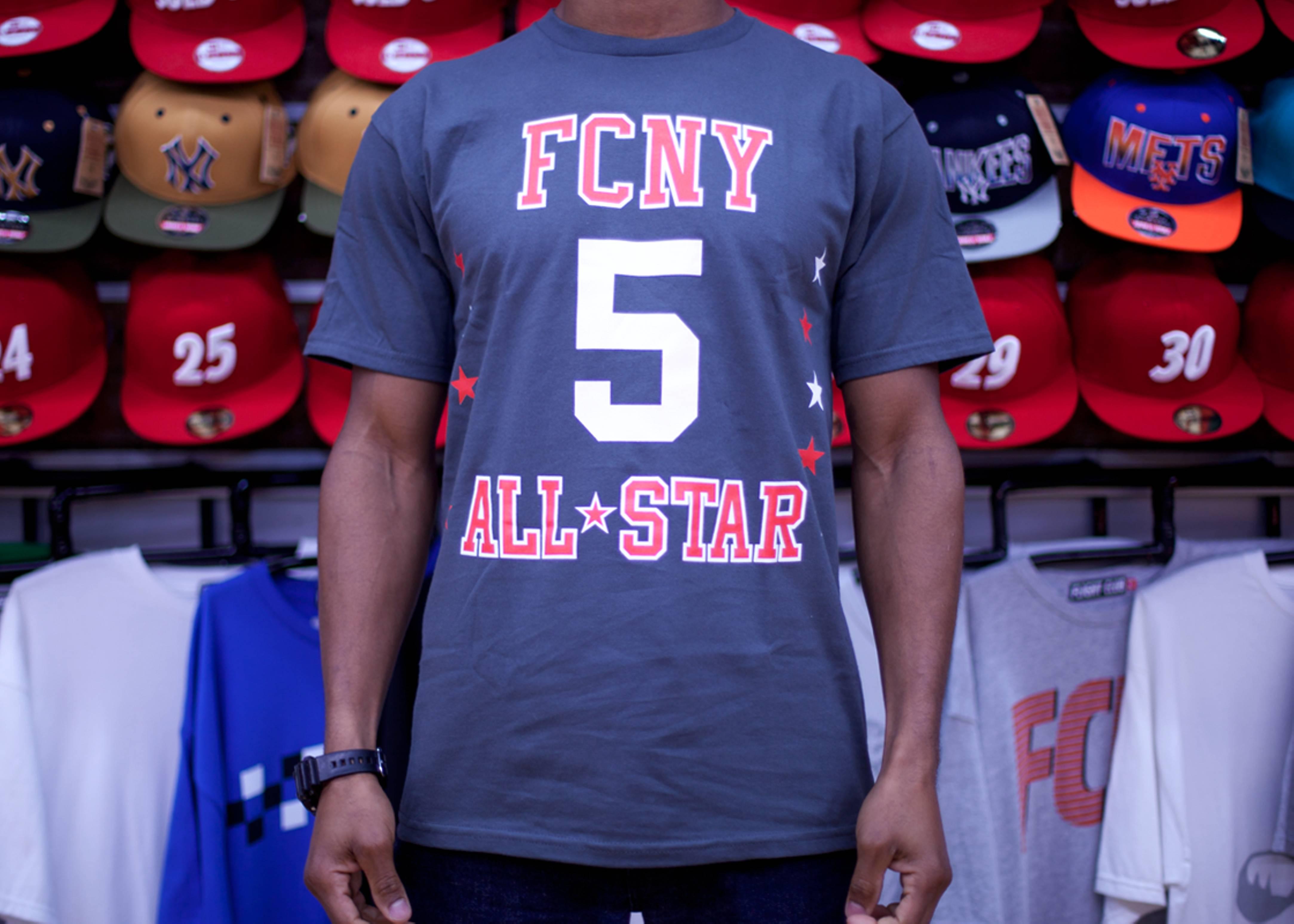 fcny all-star short sleeve t-shirt