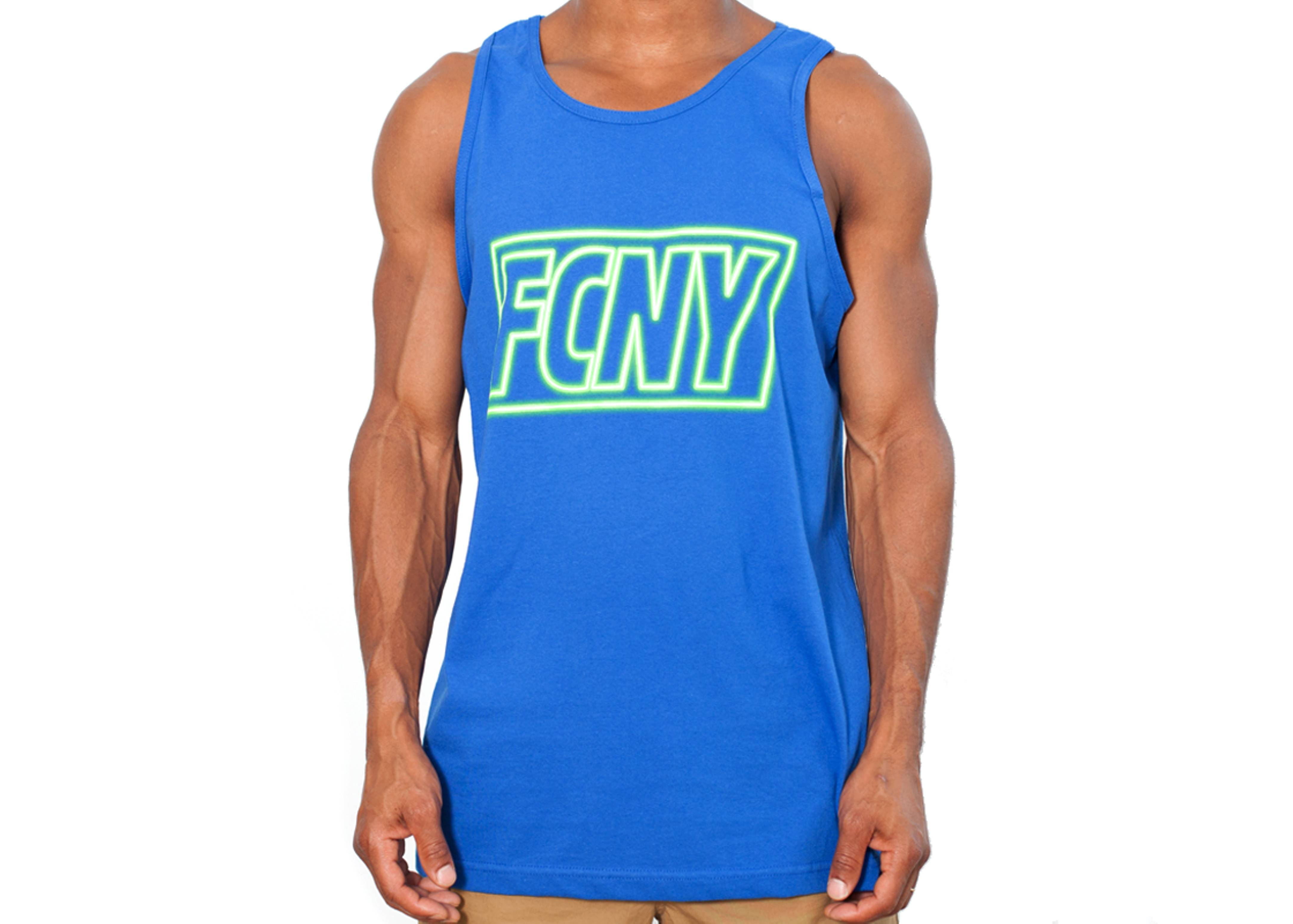 fcny neon tank top