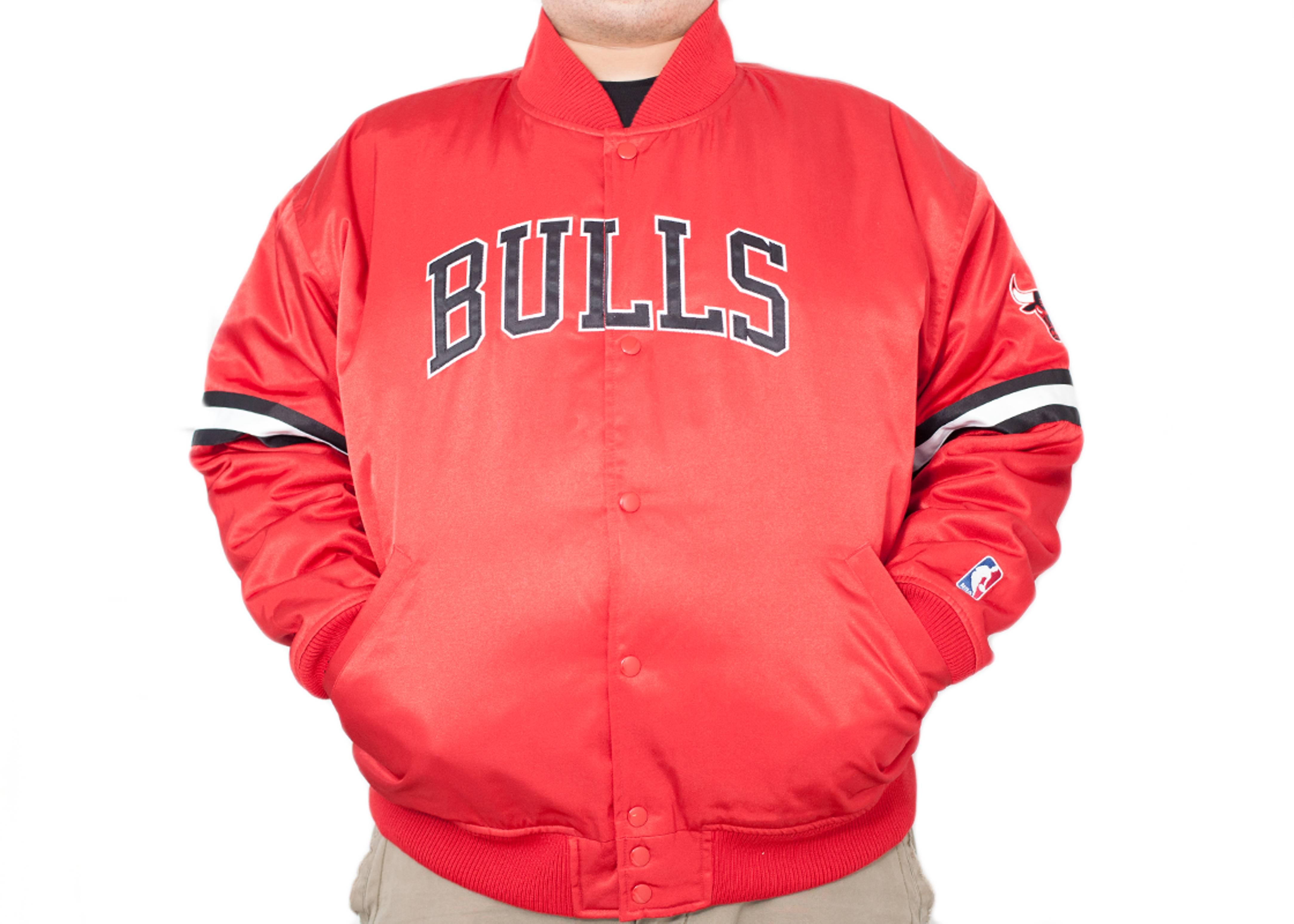 chicago bulls satin jacket