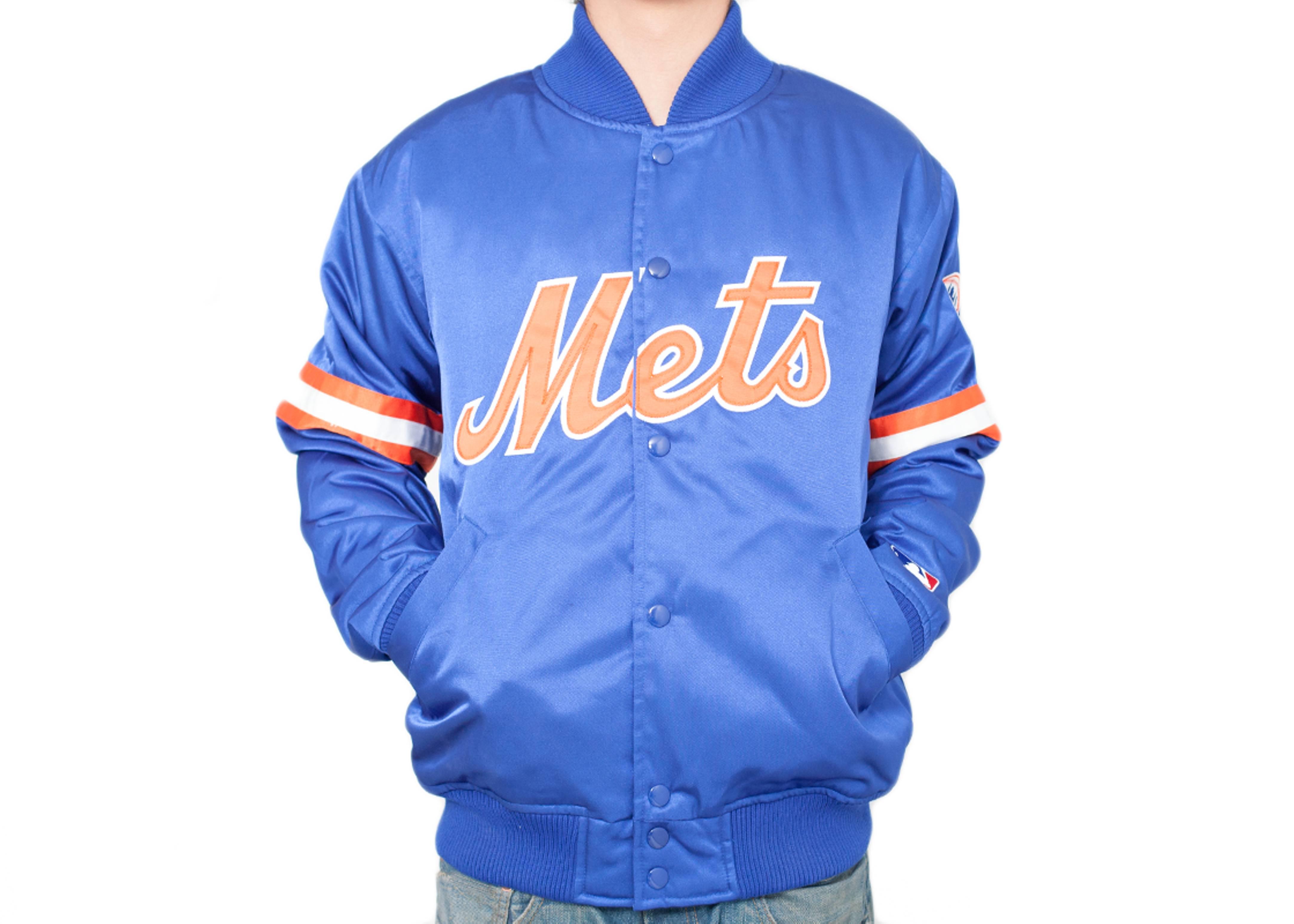 new york mets satin jacket