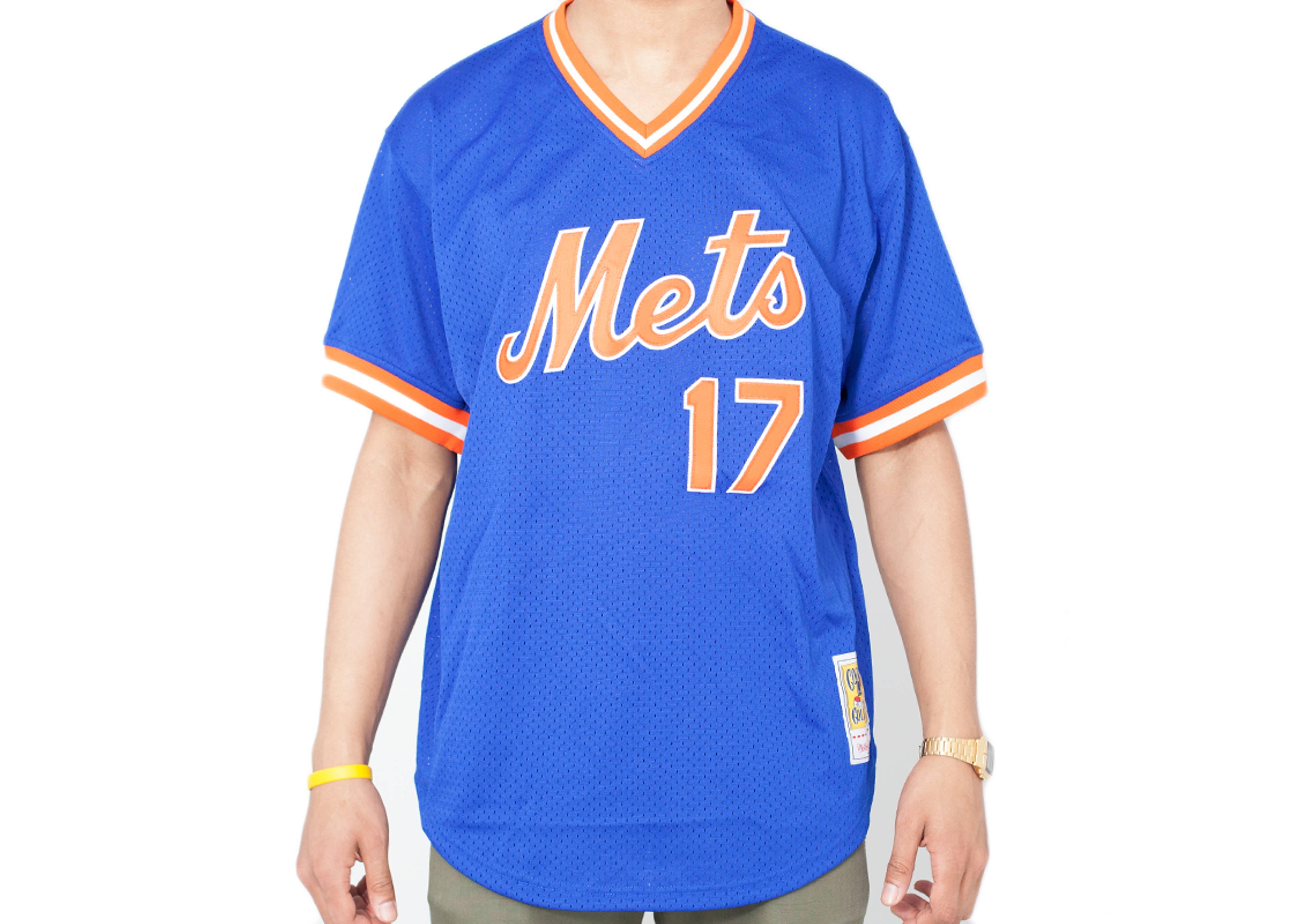 """new york mets authentic mesh bp jersey """"1986 keith hernandez"""""""