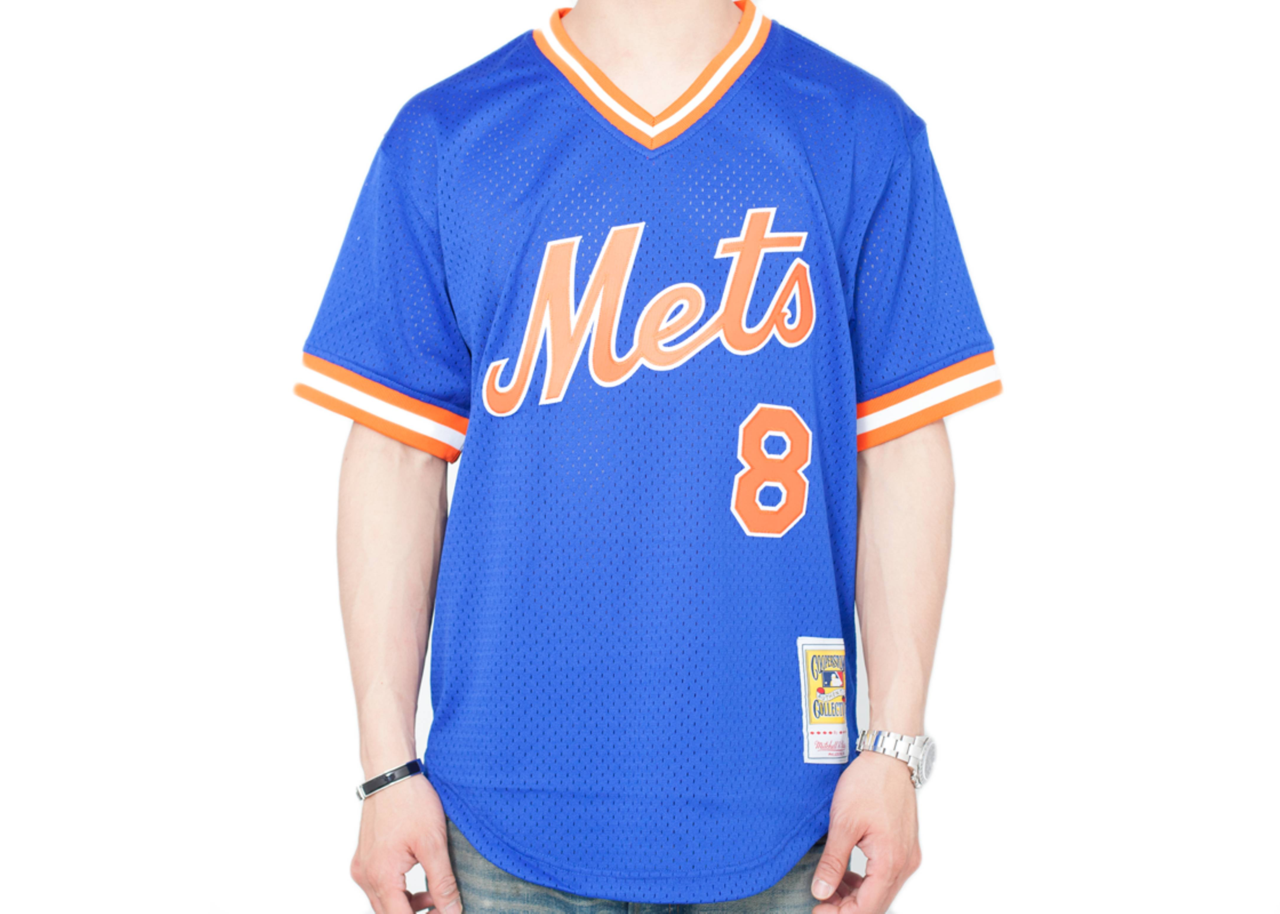 "new york mets authentic mesh bp jersey ""1986 gary carter"""