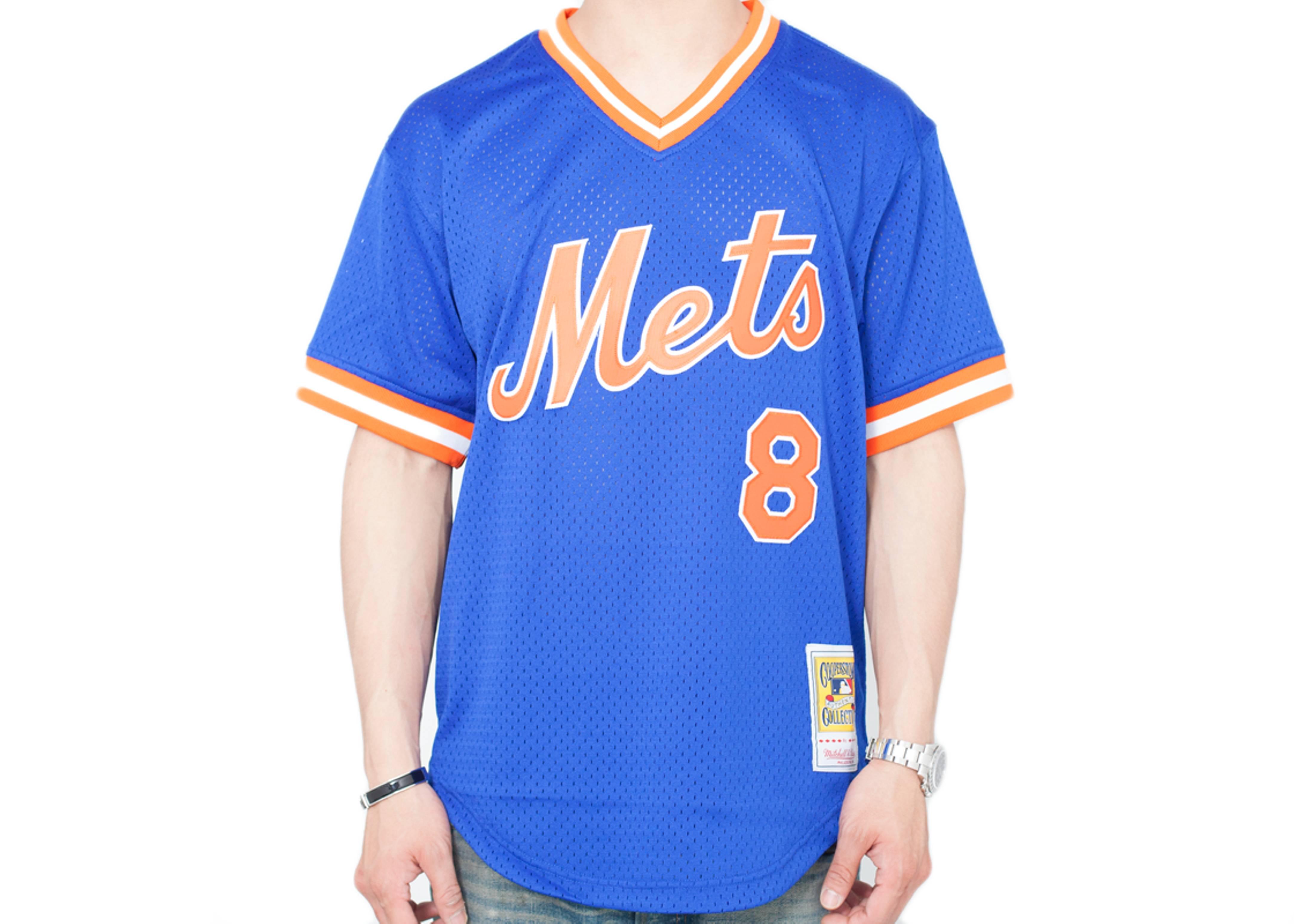 "new york mets authentic mesh bp jersey ""1986 gary carter"""