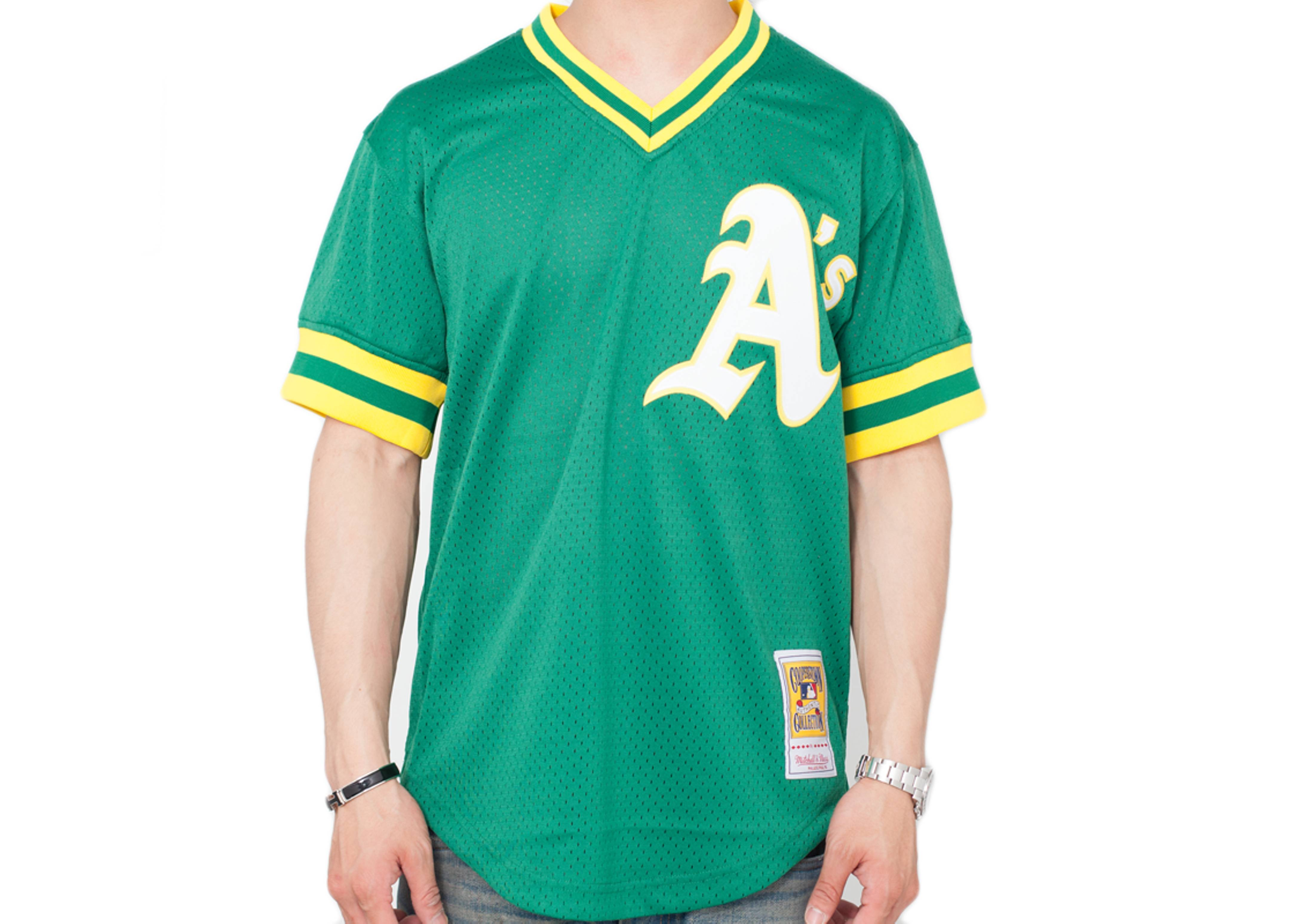 cheap for discount 381d9 6a22e Oakland Athletics Authentic Mesh Bp Jersey
