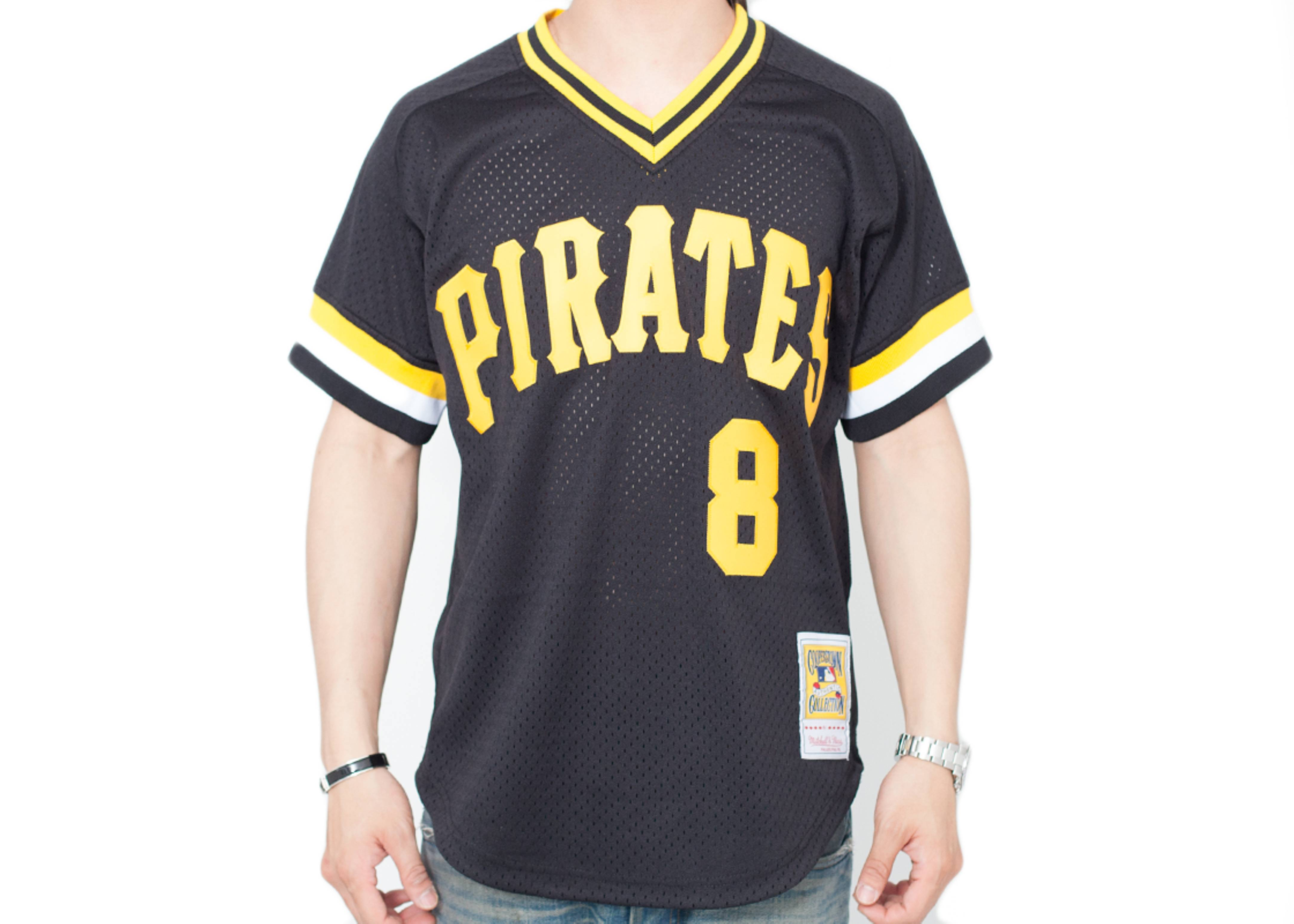 "pittsburgh pirates authentic mesh bp ""willie stargell"""