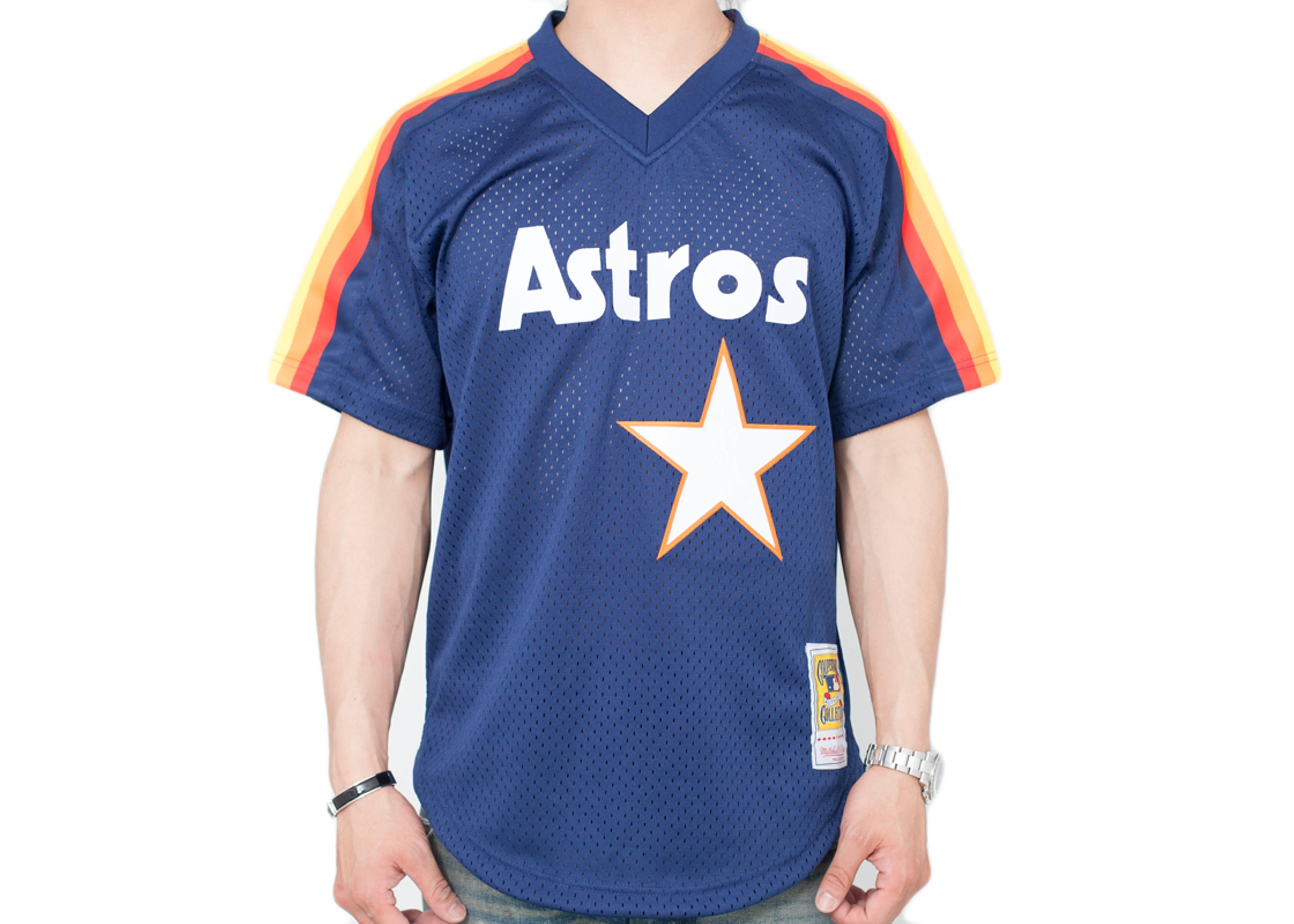 online retailer ad966 f62ca Houston Astros Authentic Mesh Bp Jersey